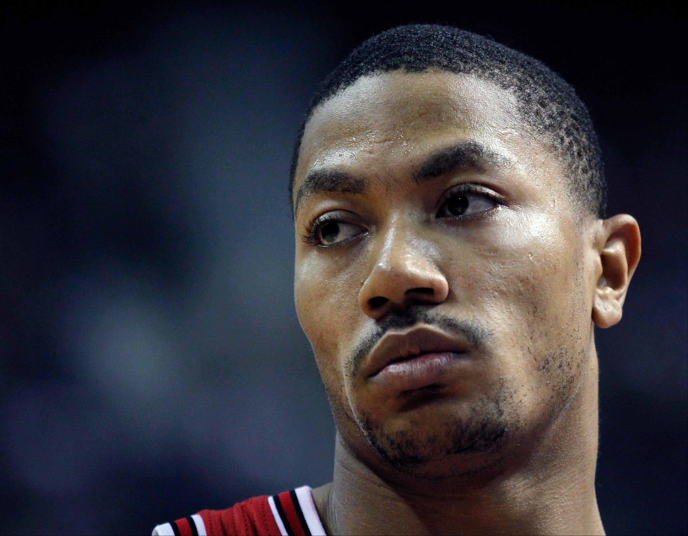 Chicago Bulls guard Derrick Rose told reporters Tuesday he wasn�t sure whether he�d be back this season or not.