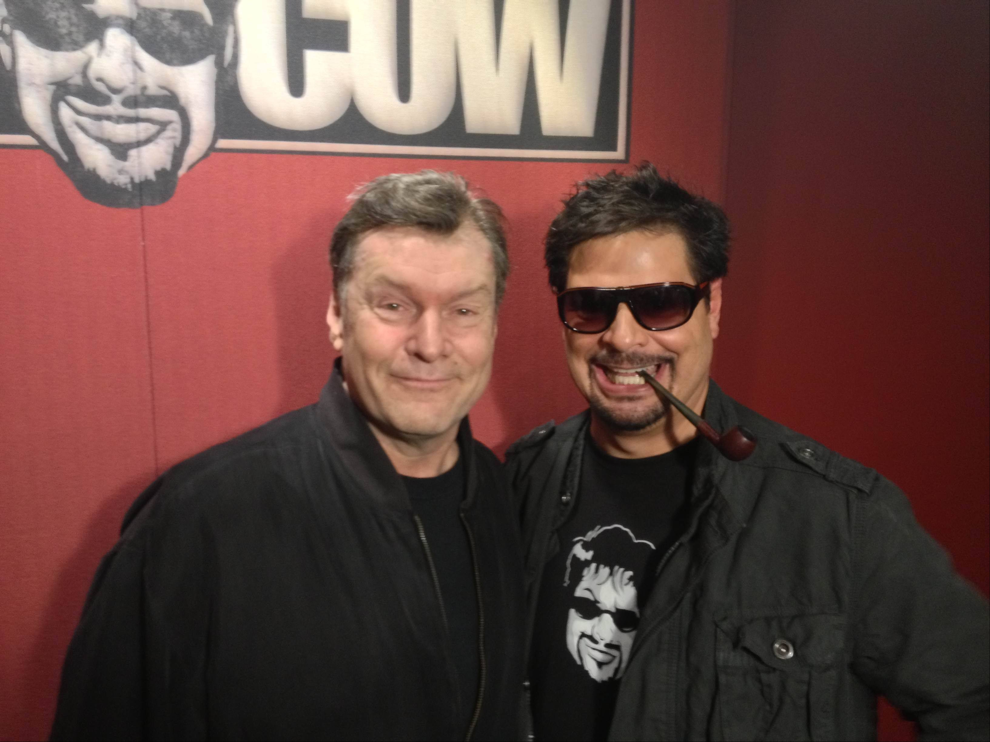 "Two former talk show competitors, Mike North and Mancow Muller, were once rivals on Chicago airwaves. Now North appears regularly on ""Mancow!"", the WPWR-TV broadcast of the host's syndicated radio show."