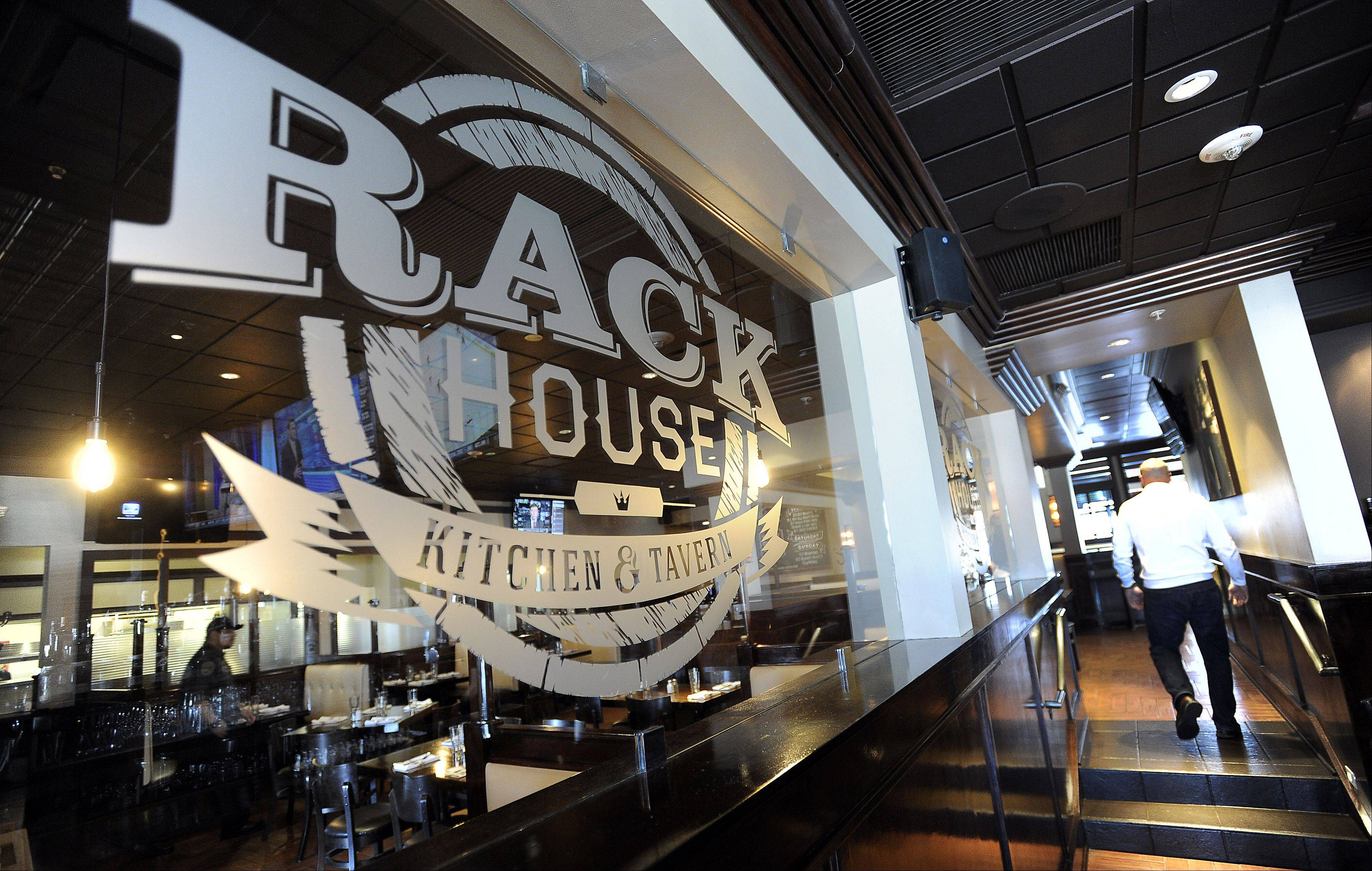The Rack House Kitchen & Tavern is open.