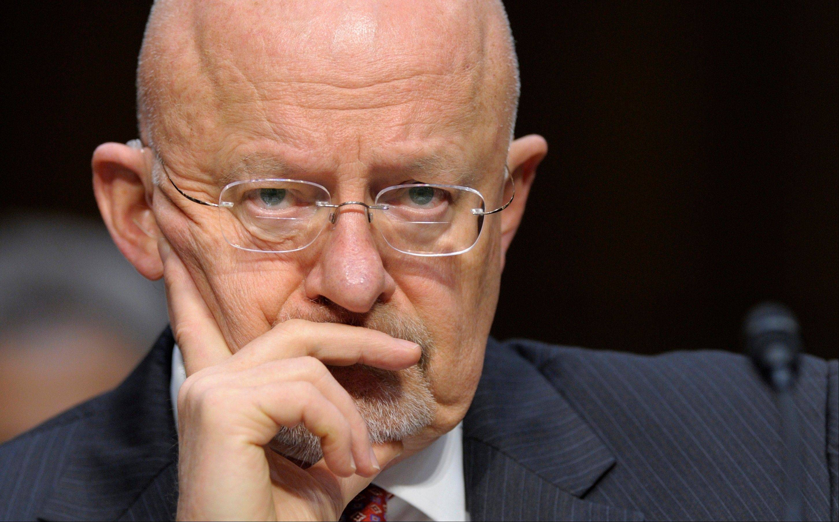 Director of National Intelligence James Clapper delivered the U.S. intelligence community's overview of global threats posed by terrorism, cyber attacks, weapons of mass destruction, the months-long civil war in Syria and the unsettled situation in post-Arab Spring nations.