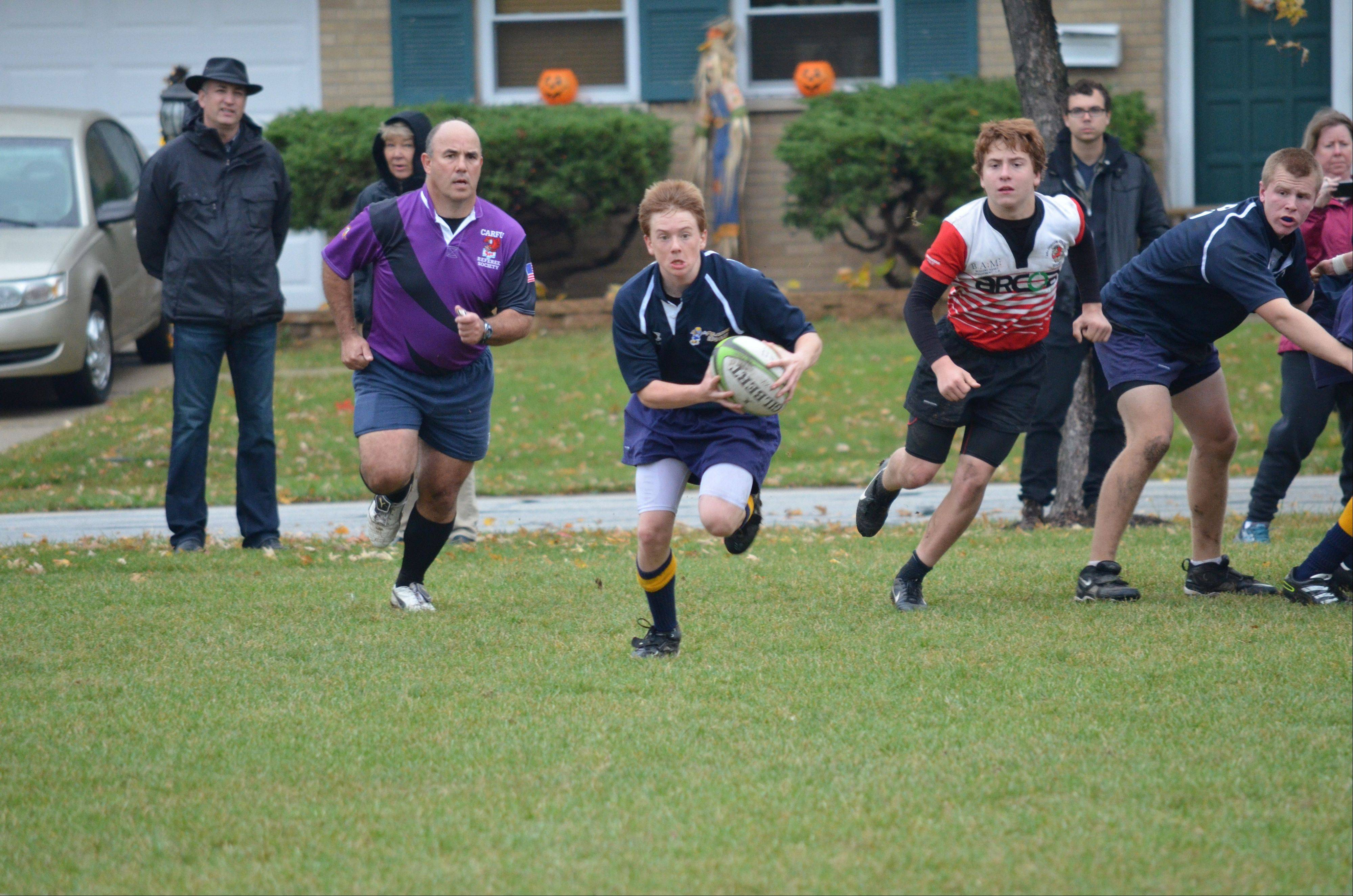The Palatine Rugby Club offers rugby for boys and girls from the rookie level through high school