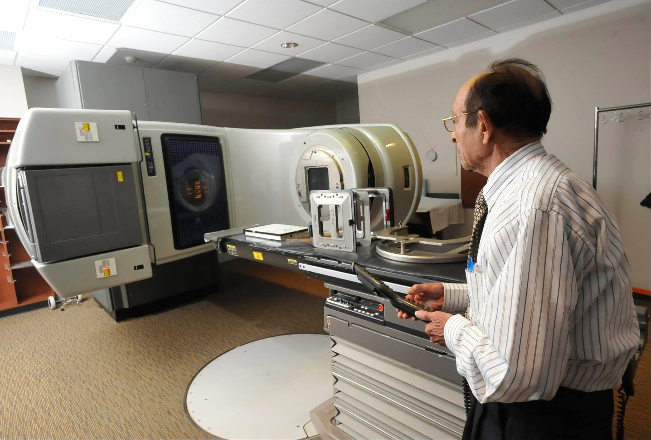 Associated Press/Sept. 19, 2102 A linear accelerator used to treat cancer at a hospital in Johnstown, Pa. Women treated with radiation for breast cancer are more likely to develop heart problems later, even with the lower doses used today, troubling new research suggests.
