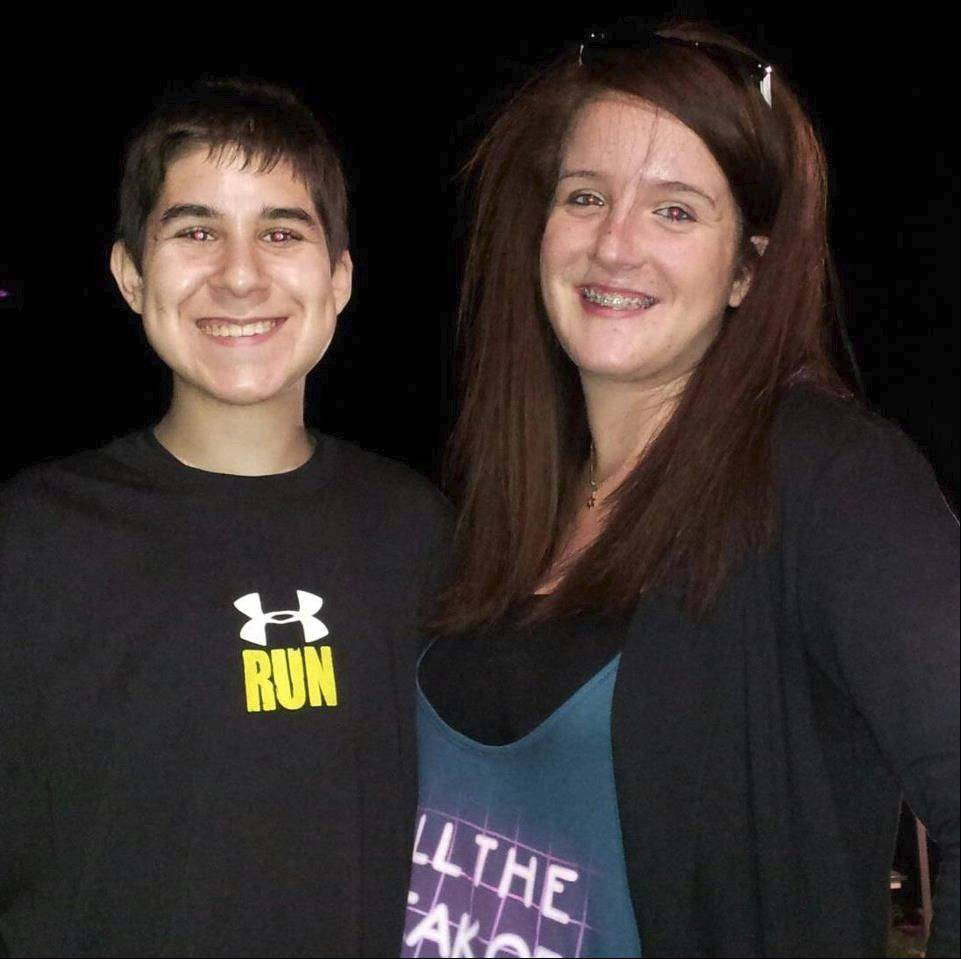 Jeff Epstein, 18, of Buffalo Grove and Lake Zurich resident Carly Rubin, 16, see a need for a teen dance club in southern Lake County. They'll have a trial run for their club idea, Infinity, at the American Legion hall in Lake Zurich starting at 9 p.m. Friday.