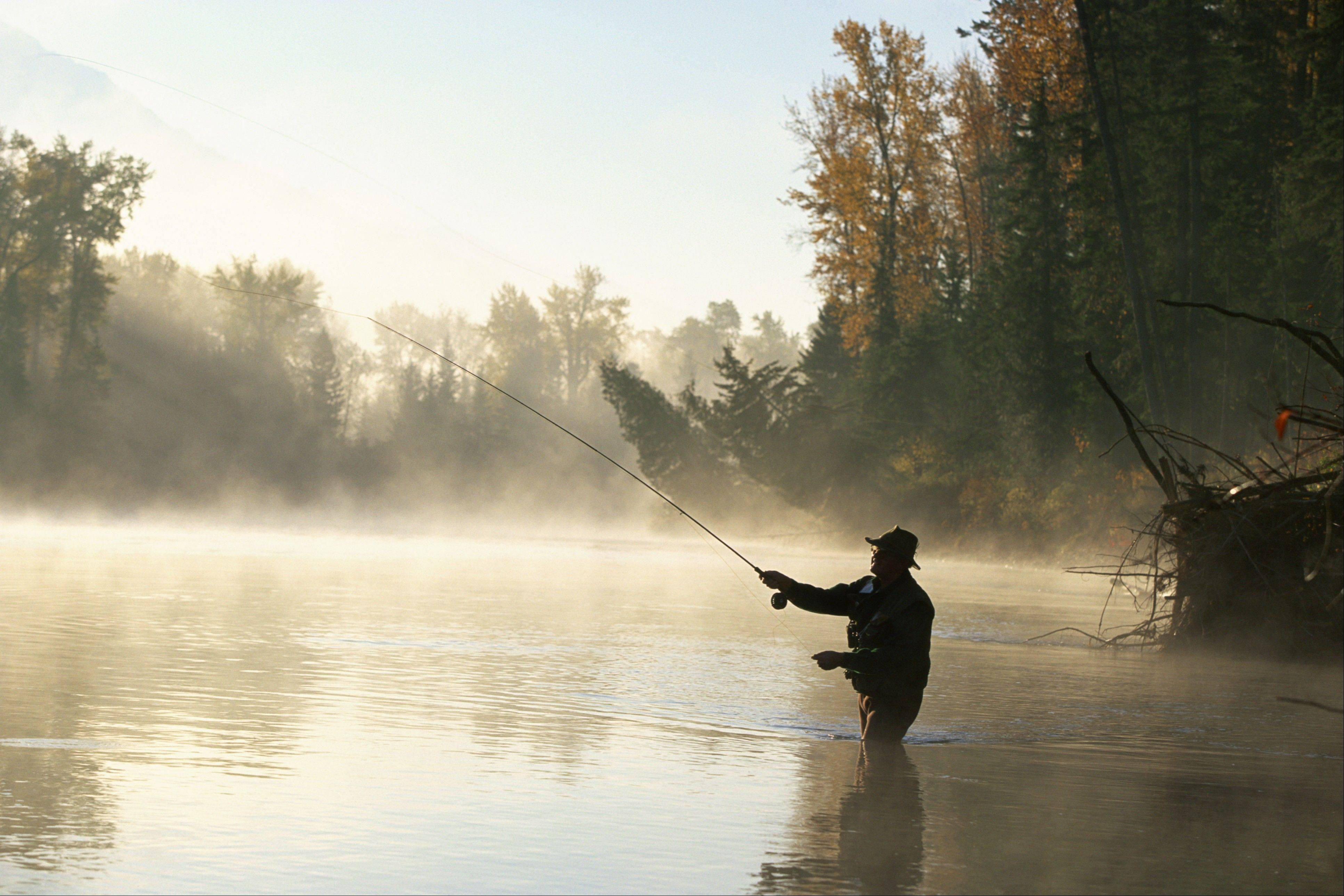 Comstock photos With spring approaching, it's time for anglers to starting preparing for some fly fishing.
