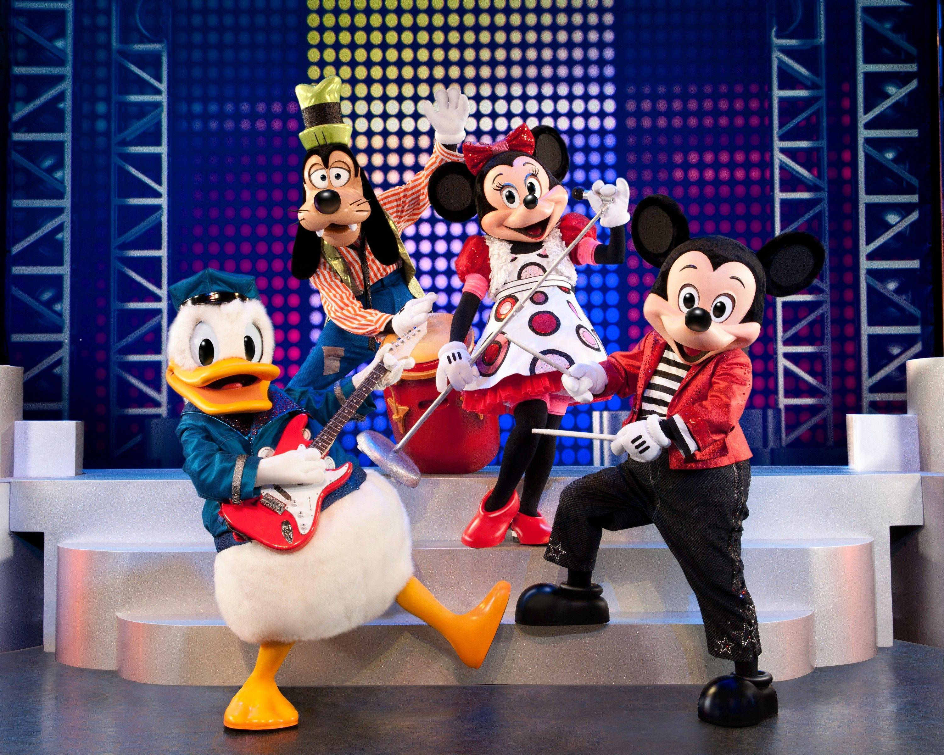 "Disney Live! presents ""Mickey's Music Festival"" at the Rosemont Theatre from Friday through Sunday, March 15-17."