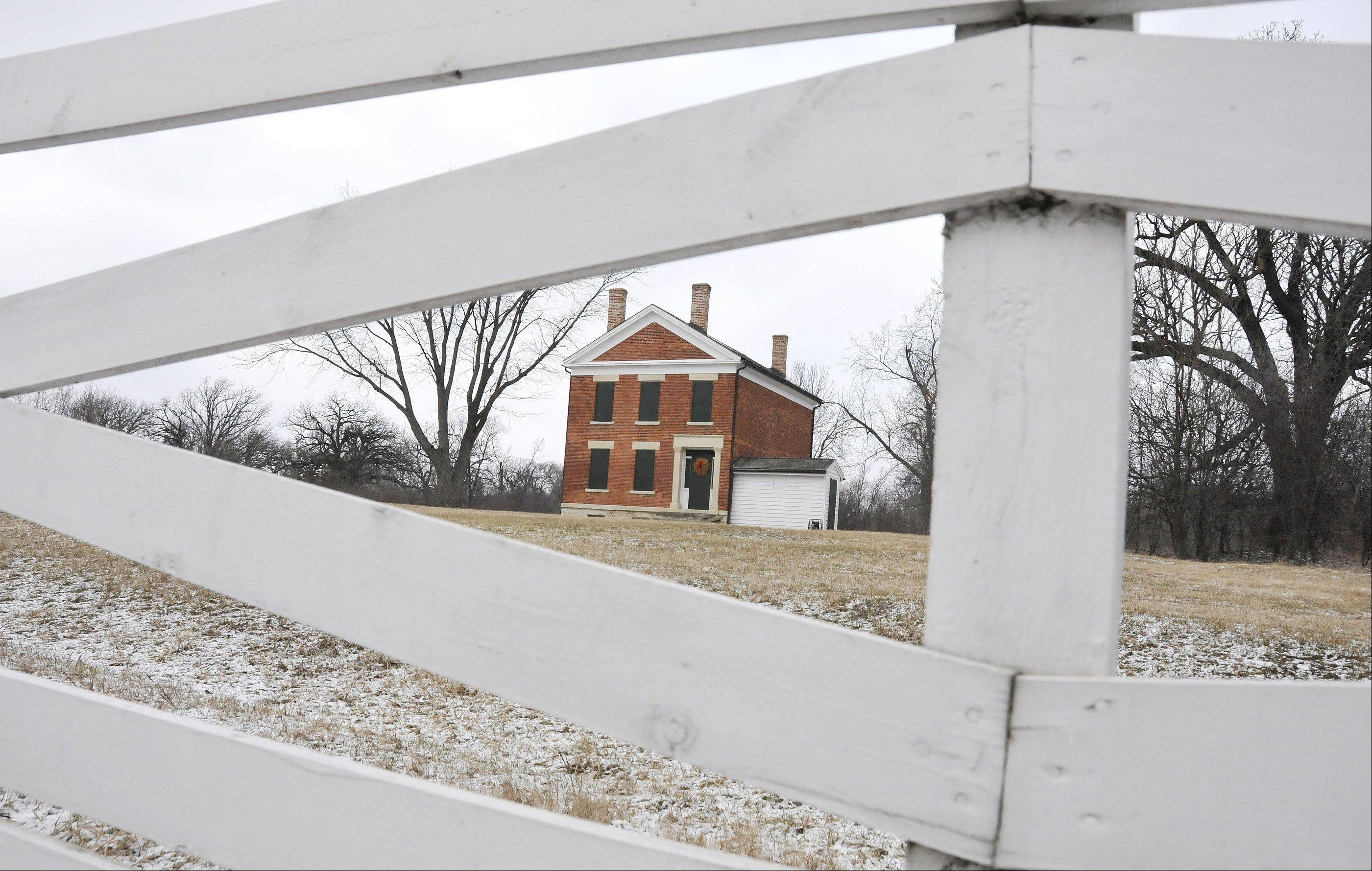 The DuPage County Forest Preserve District plans to compile a list of historic structures on district land, including the Baker House near West Chicago.