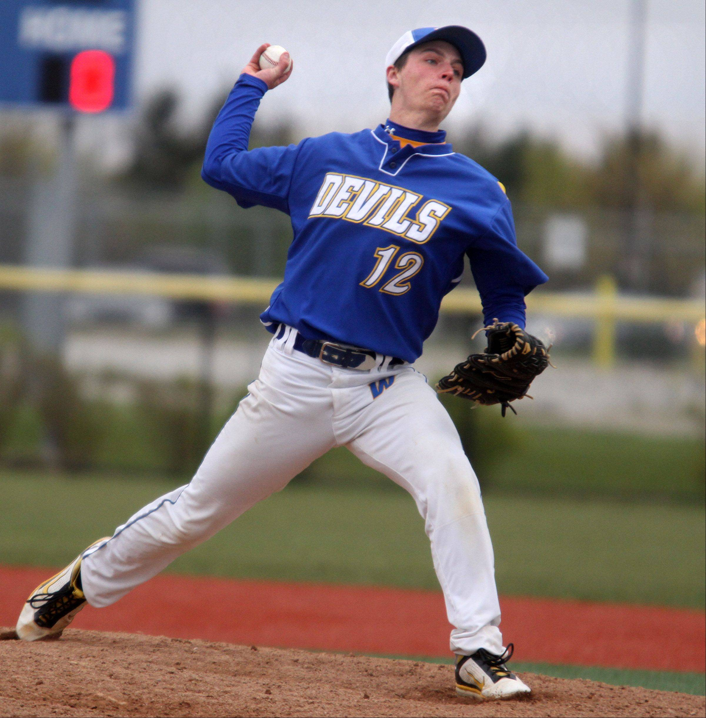 Warren's Kyle Kennedy will pitch for North Park next spring.