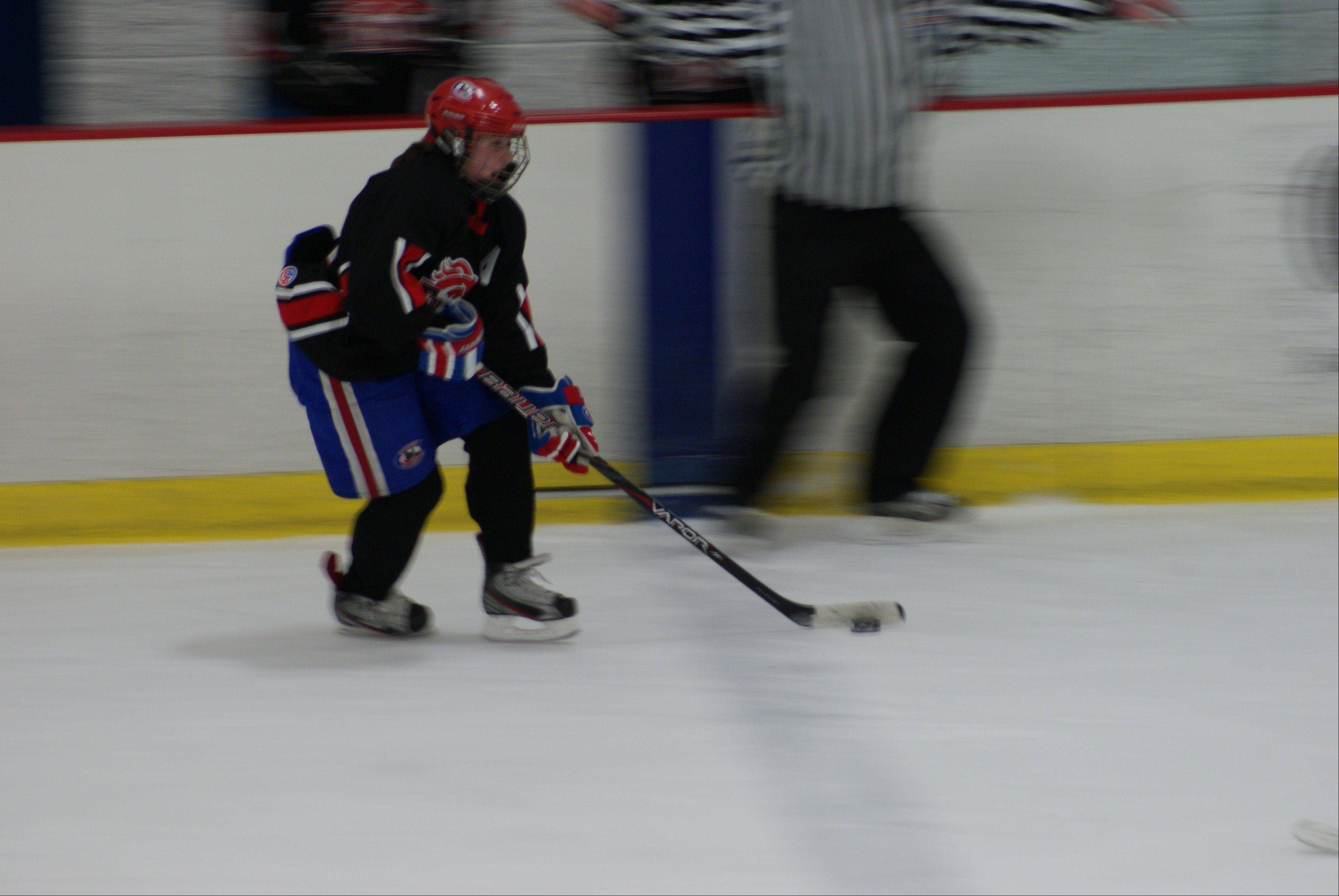 Andrea Renner is keeping her hockey season alive with the Chicago Young Americans after a successful high school season with the co-op Barrington Fillies.