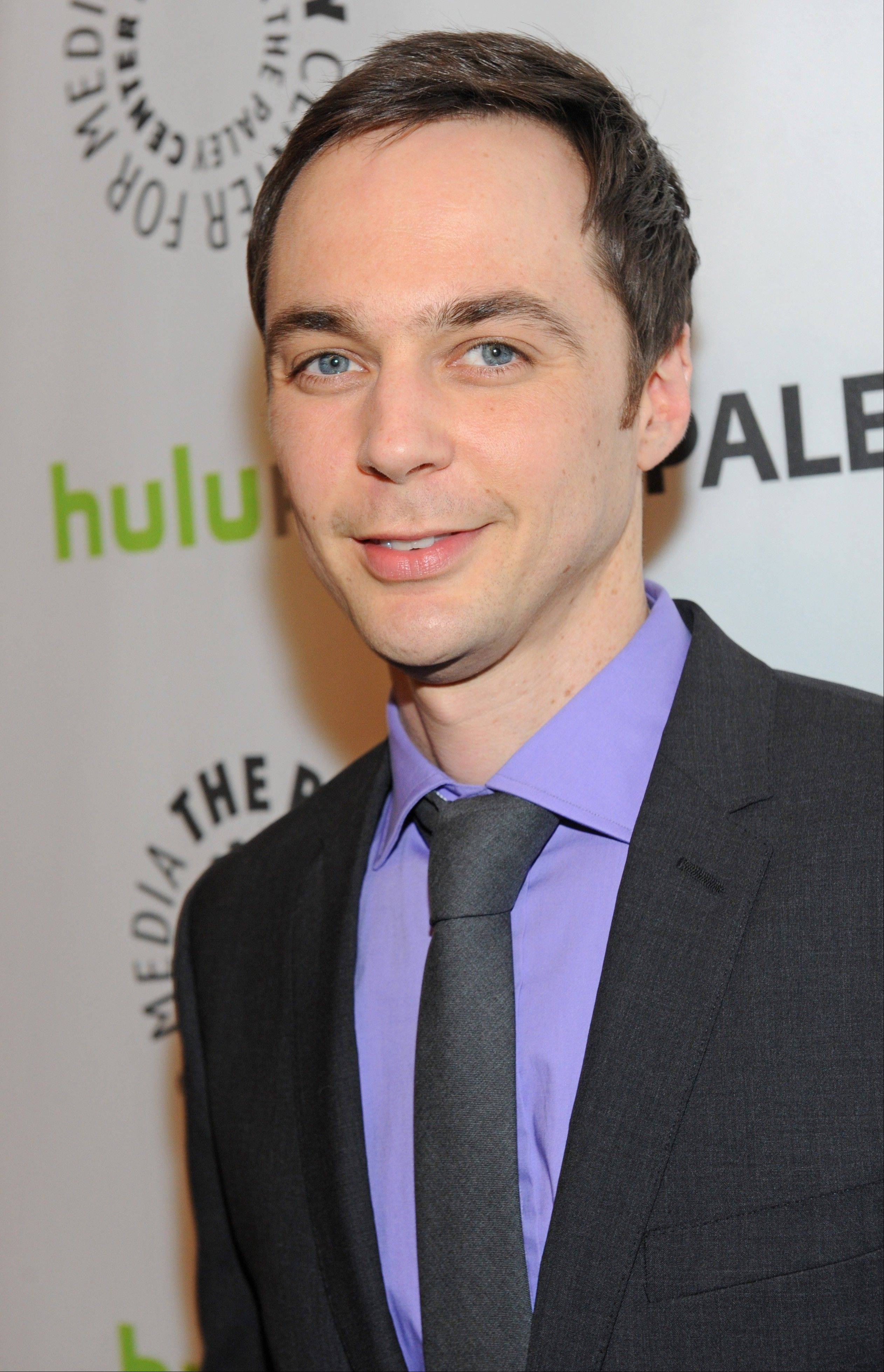 "Actor Jim Parsons arrives during the Paley Center for Media's PaleyFest in Los Angeles honoring ""The Big Bang Theory."""