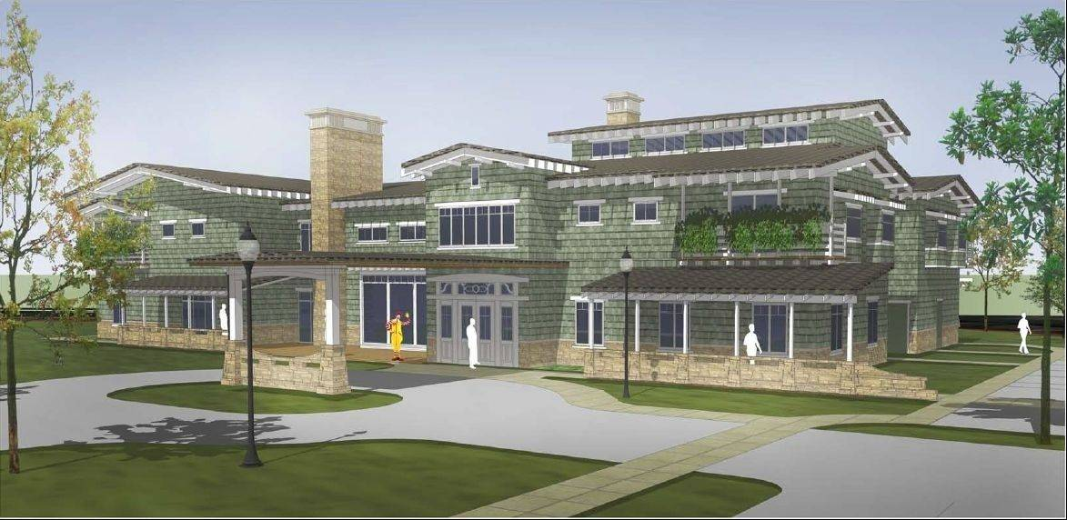 A Ronald McDonald House is scheduled to open in 2015 near Central DuPage Hospital in Winfield. It will be the first such facility in the West suburbs.