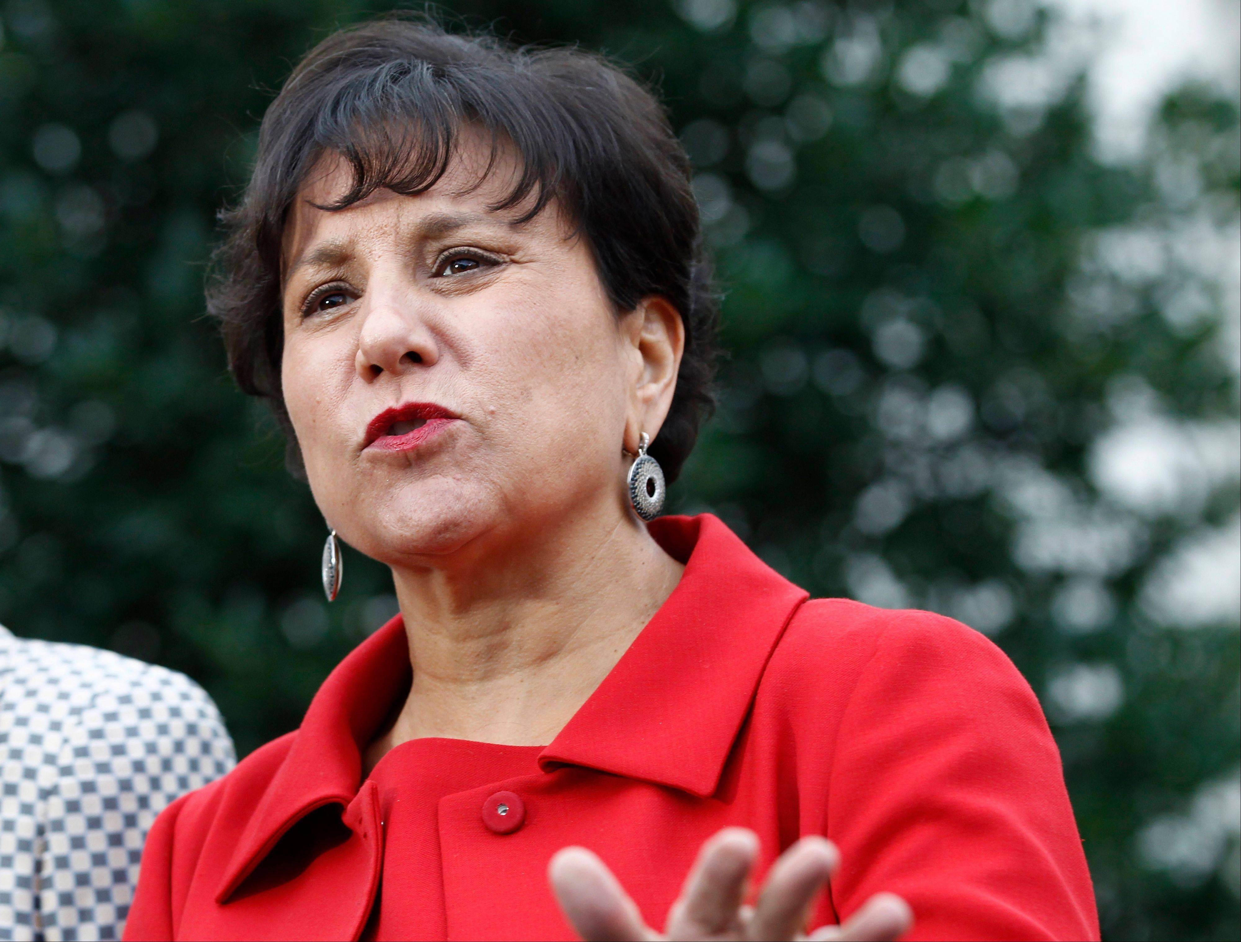 Chicago businesswoman Penny Pritzker is a leading candidate to be the next U.S. Commerce secretary.