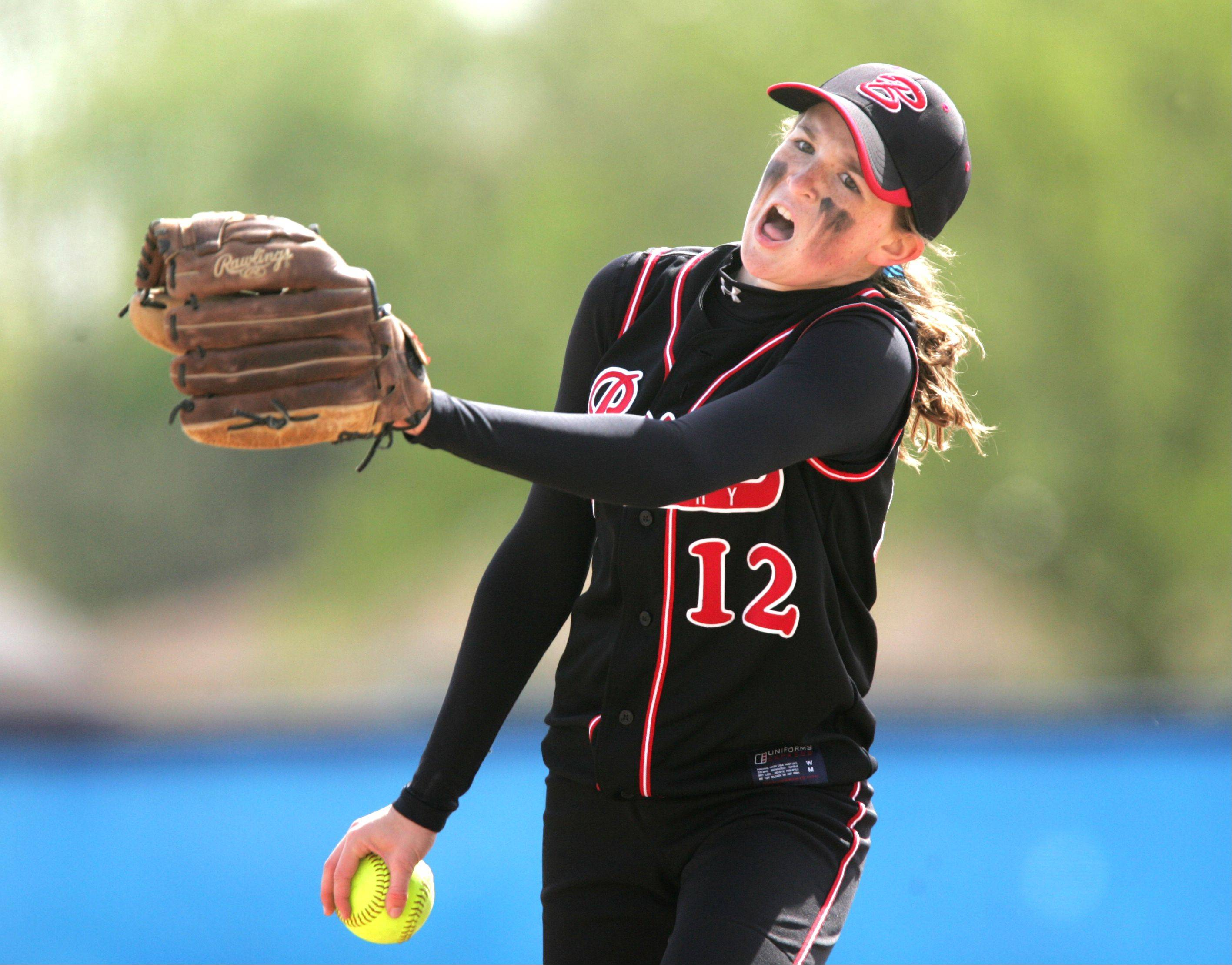 Benet pitcher Molly Moran has a dislocated knee is expected to be out 4-6 weeks.