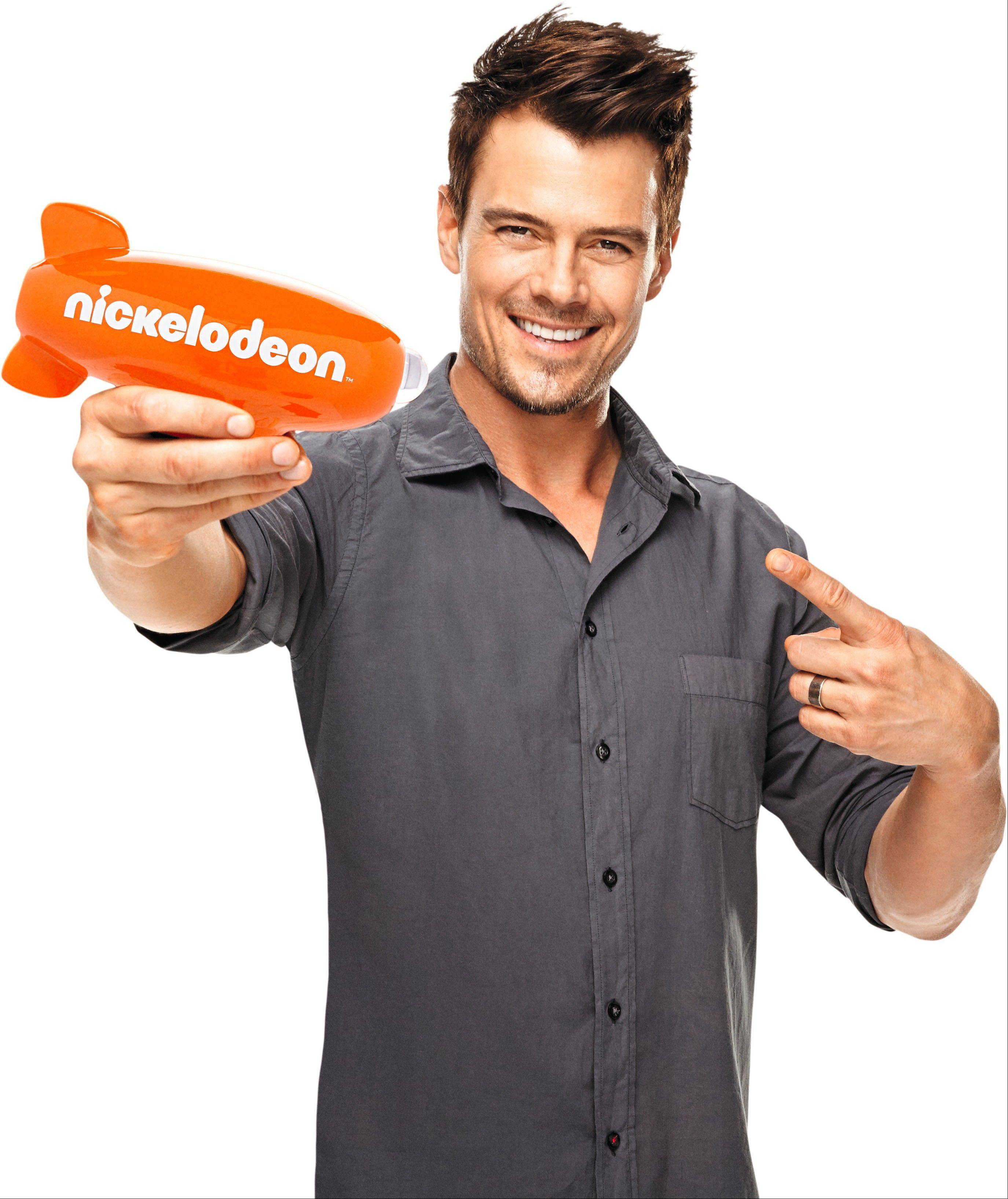 "Josh Duhamel will be hosting the ""26th Annual Kids Choice Awards"" on Nickelodeon."