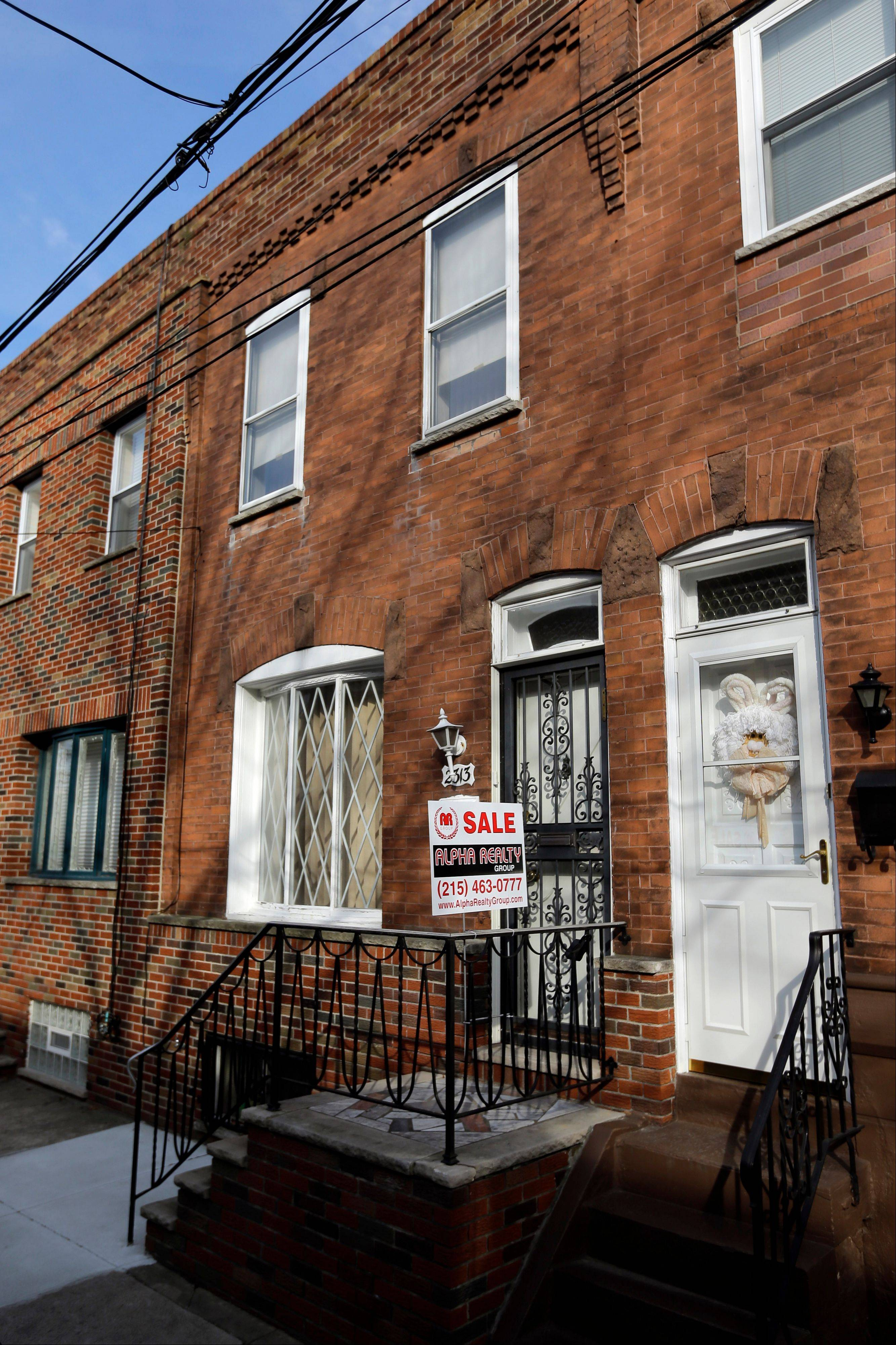 The South Philadelphia home featured in the 1979 movie �Rocky II.�