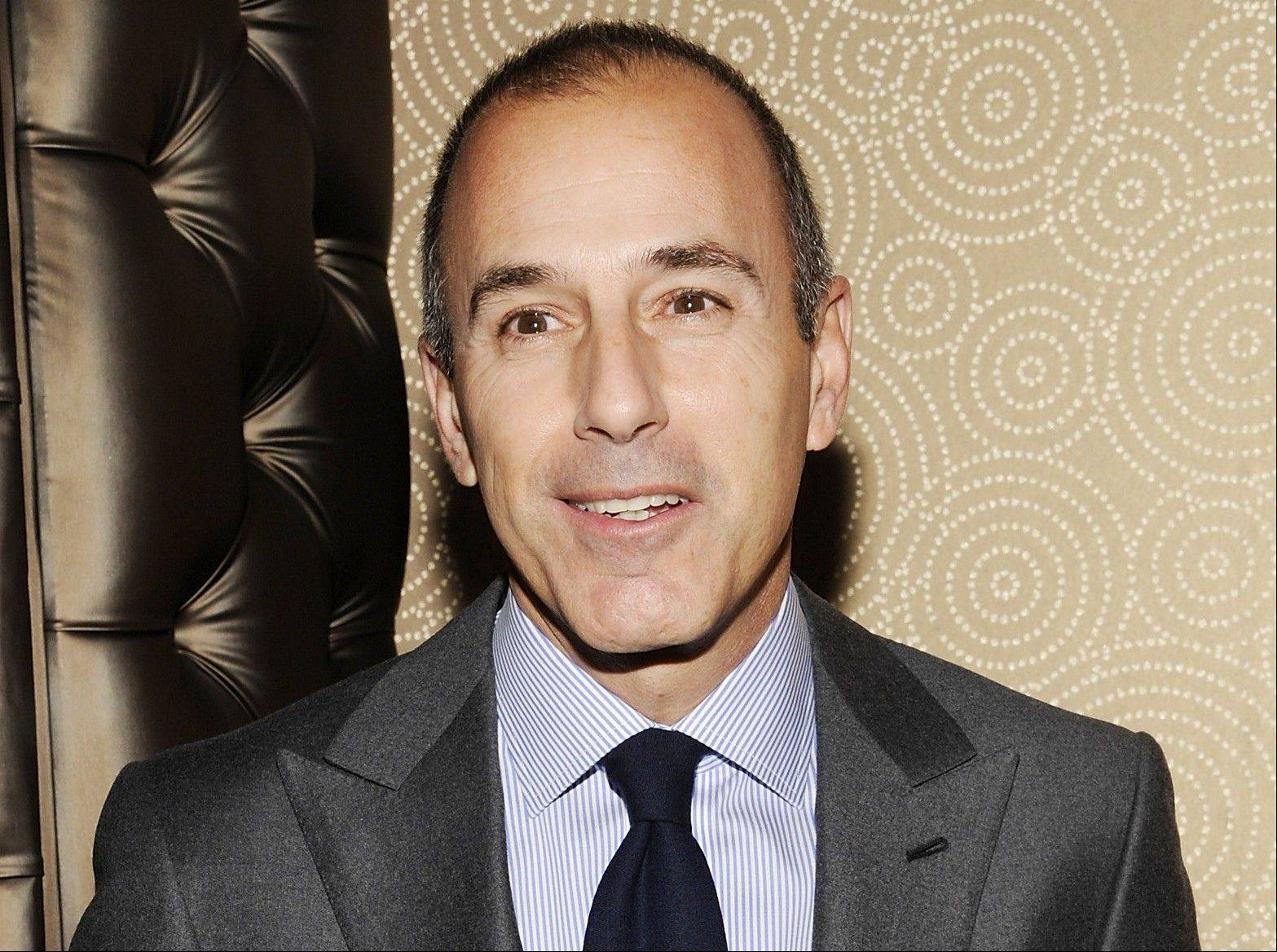 """Today"" show co-host Matt Lauer told advertisers Thursday that he wants to get the show back to being the most-watched and least talked about show on morning television, and he expects to do it."