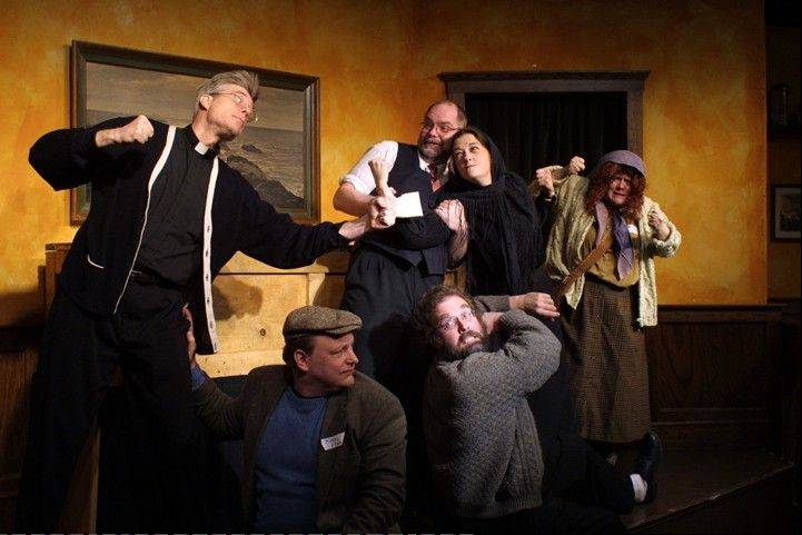 "The interactive Irish funeral comedy ""Flanagan's Wake"" returns to the Metropolis Performing Arts Centre in Arlington Heights."