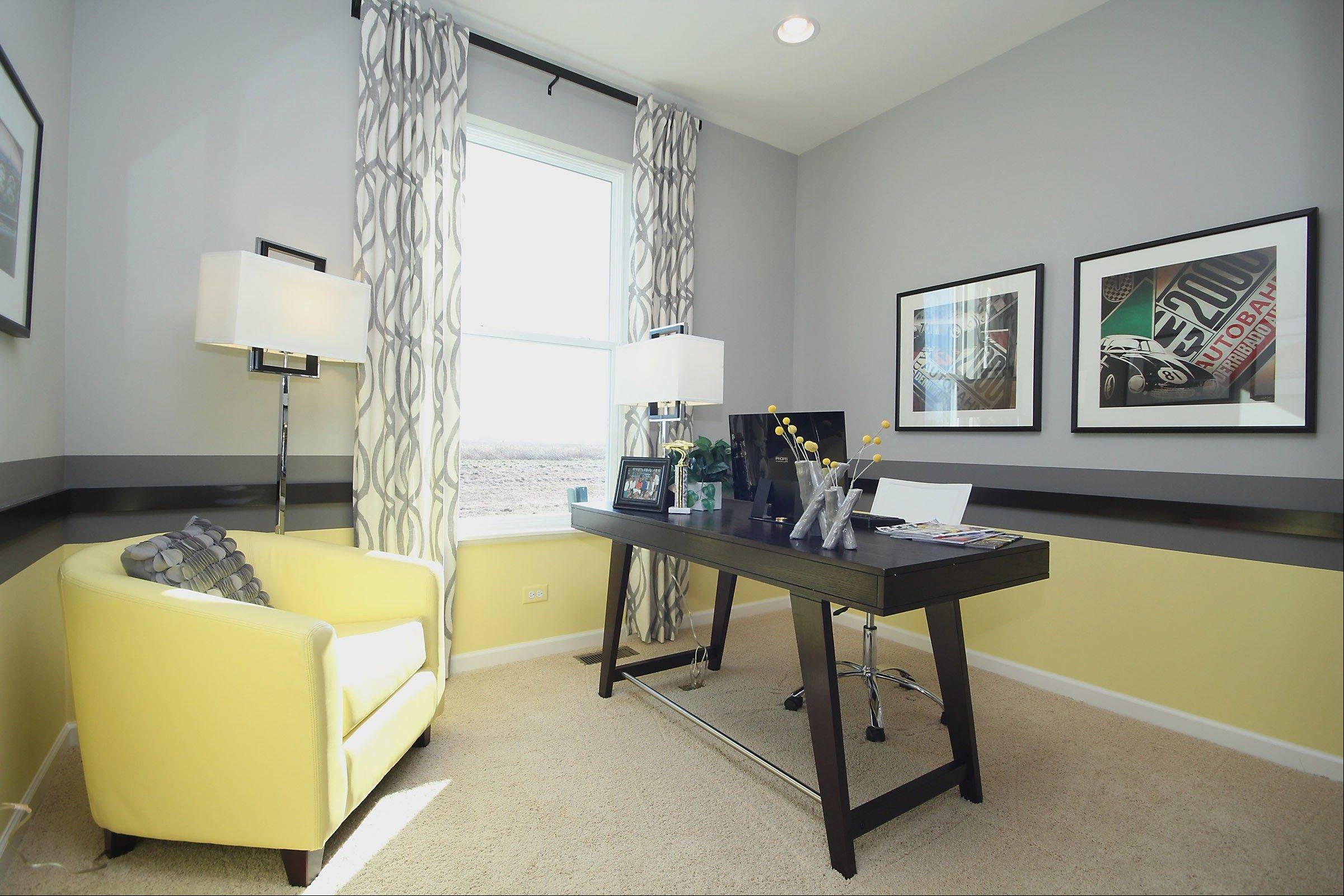 Solid colors that coordinate nicely create a pattern themselves, said Helen Velas, owner of Eleni Interiors, Naperville.