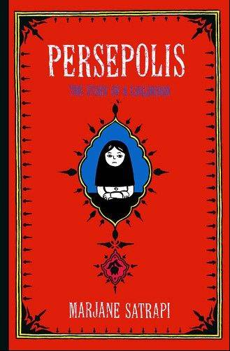"The graphic novel ""Persepolis"" tells the story of a young woman growing up in Iran during the Islamic Revolution."