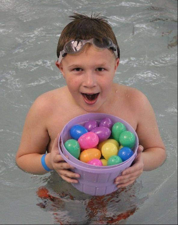 Pool egg hunts, entertainment, games and prizes will all be a part of Schaumburg Park District's Underwater EGGstravaganza on Thursday, March 28. Visit parkfun.com to register.