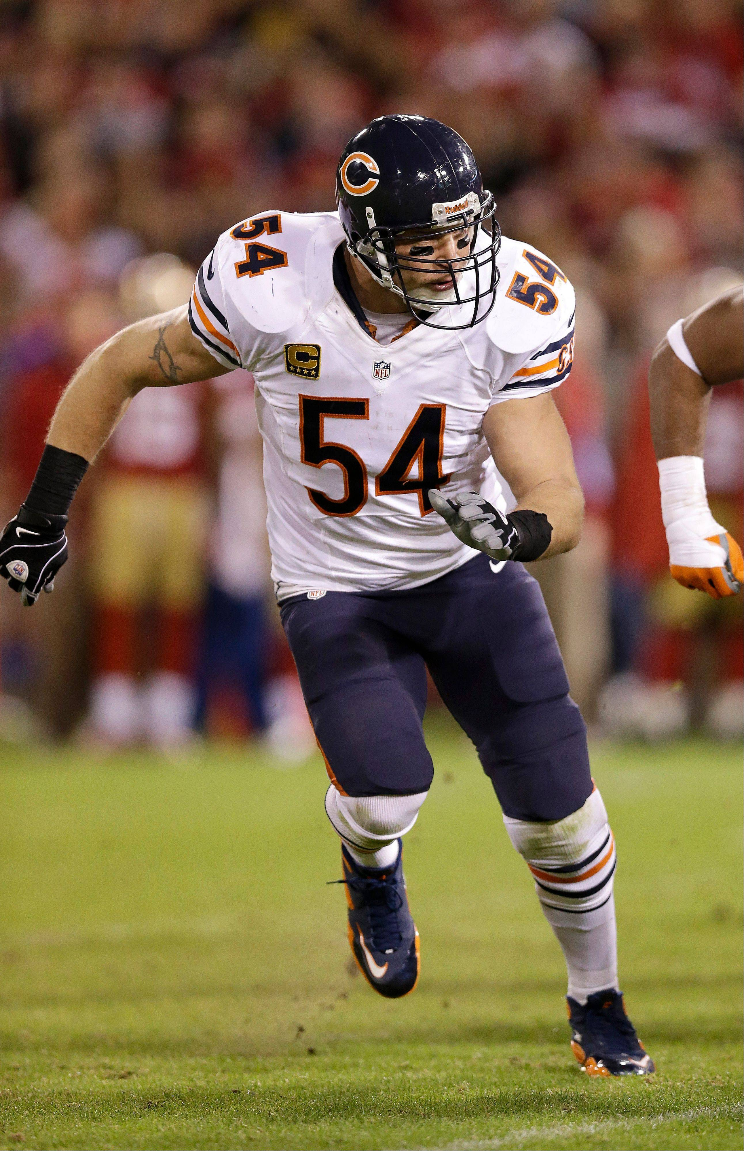 It's hard to imagine veteran Brian Urlacher being the right guy for the situation the Bears find themselves in at middle linebacker.