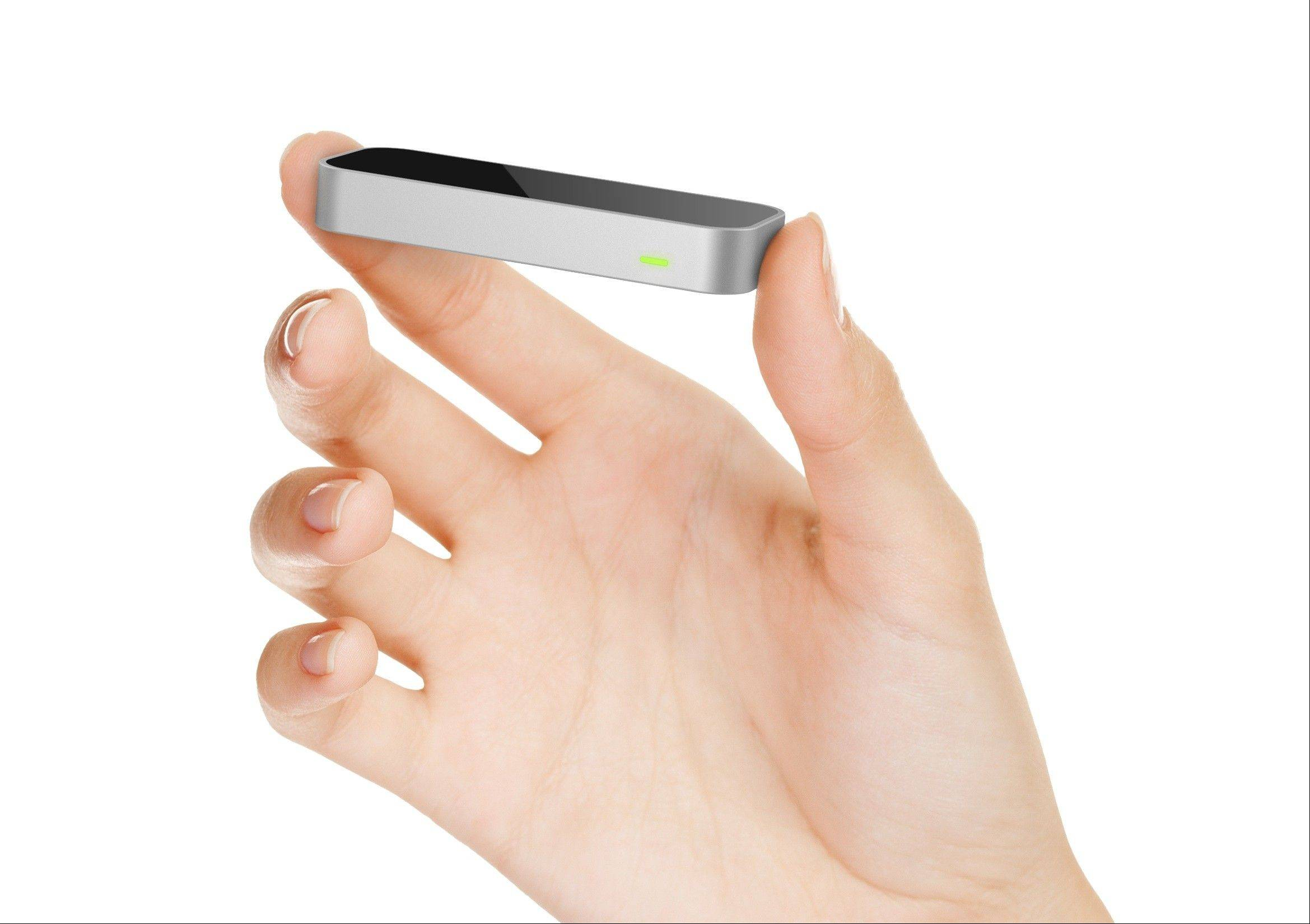 The Leap Motion computer controller is designed for people to use while seated and moving their hands just a few inches from the screens of laptops and personal computers.