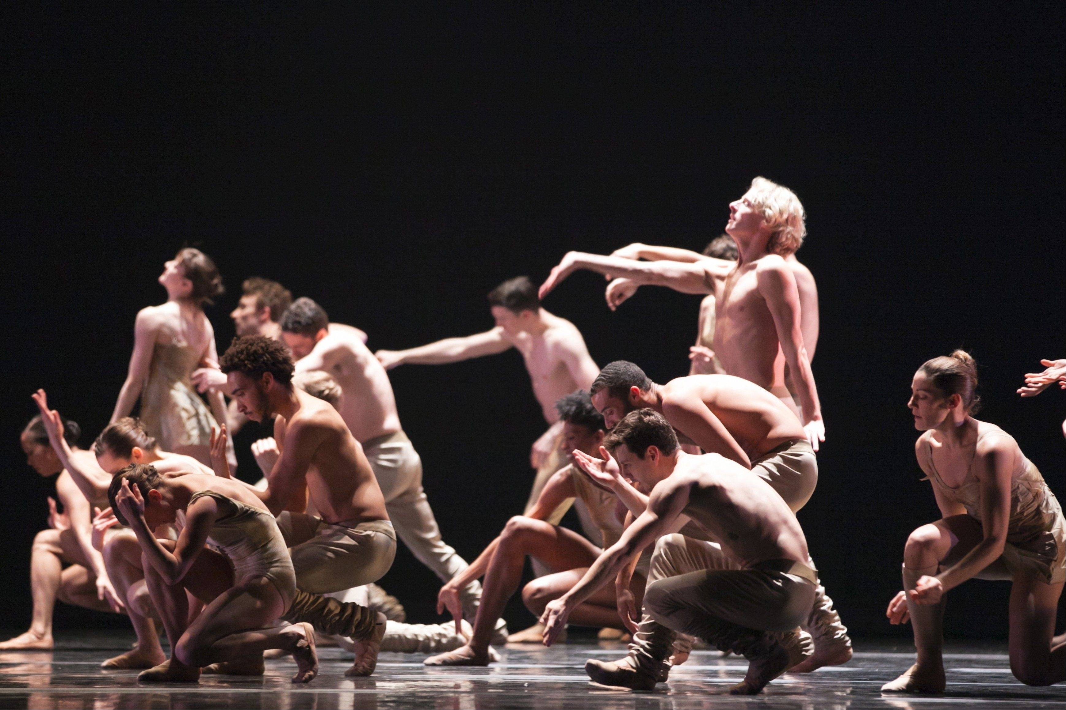 Hubbard Street Dance Chicago teams up with San Francisco-based Alonzo King LINES Ballet to form the supergroup AZIMUTH at Millennium Park's Harris Theater for Music and Dance in Chicago.