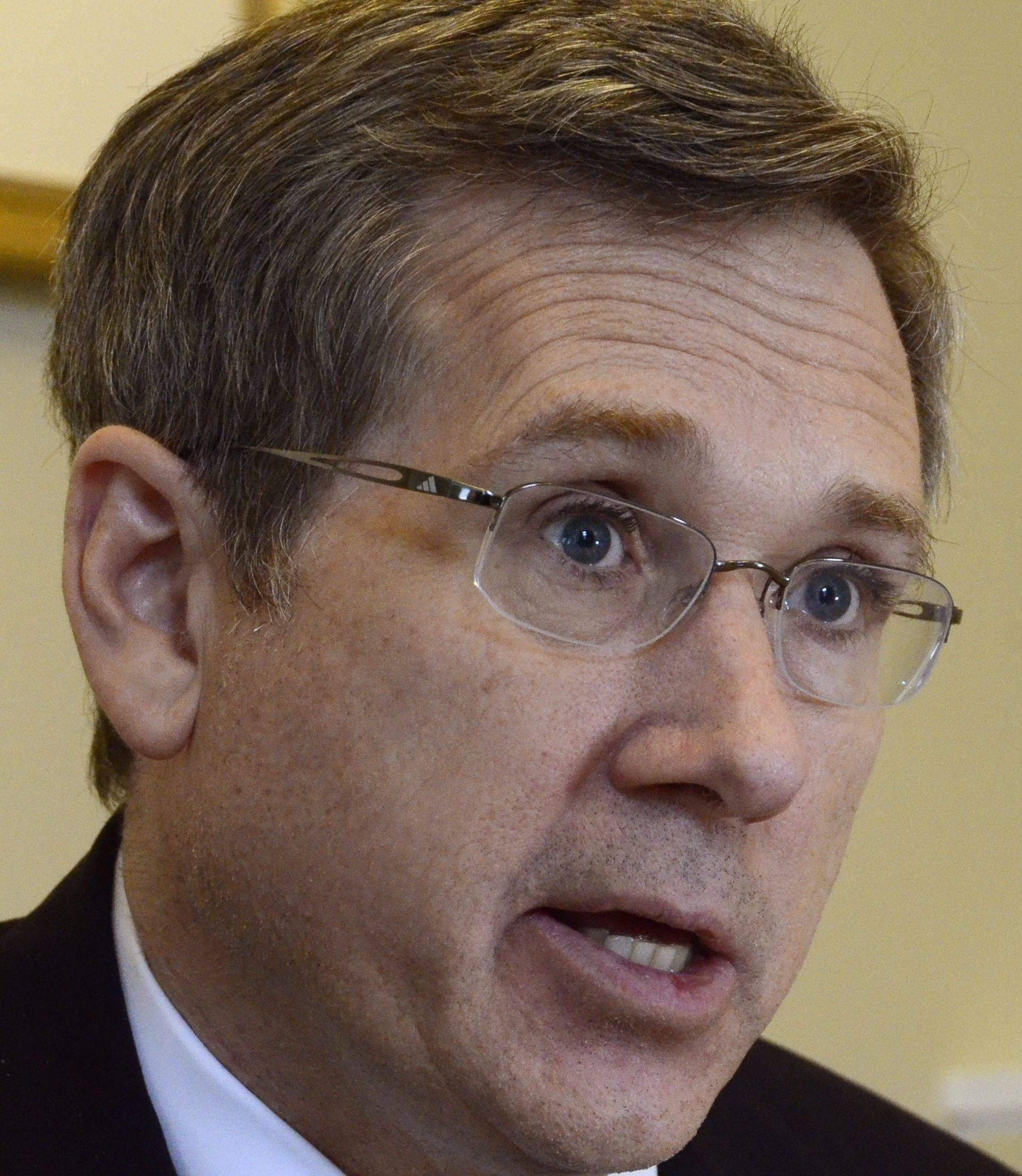 Senator Mark Kirk talks about his recovery from an ischemic stroke and returning to the U.S. Senate.