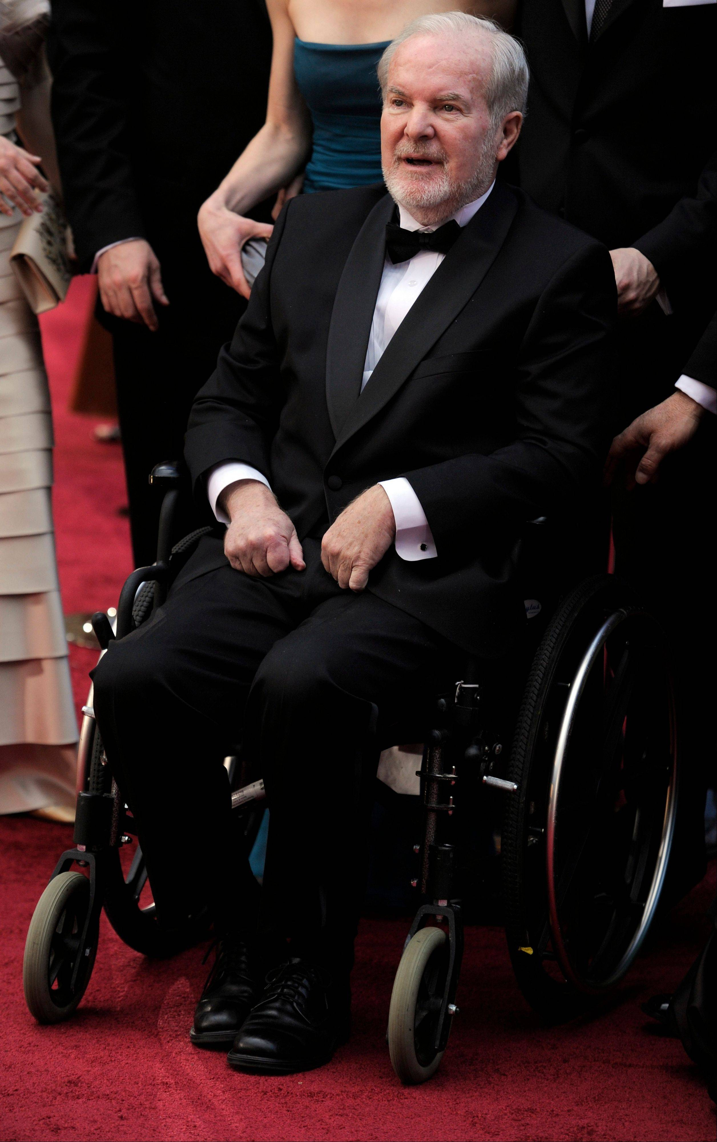 Washington Governor Booth Gardner arrives at the 82nd Academy Awards in Los Angeles.