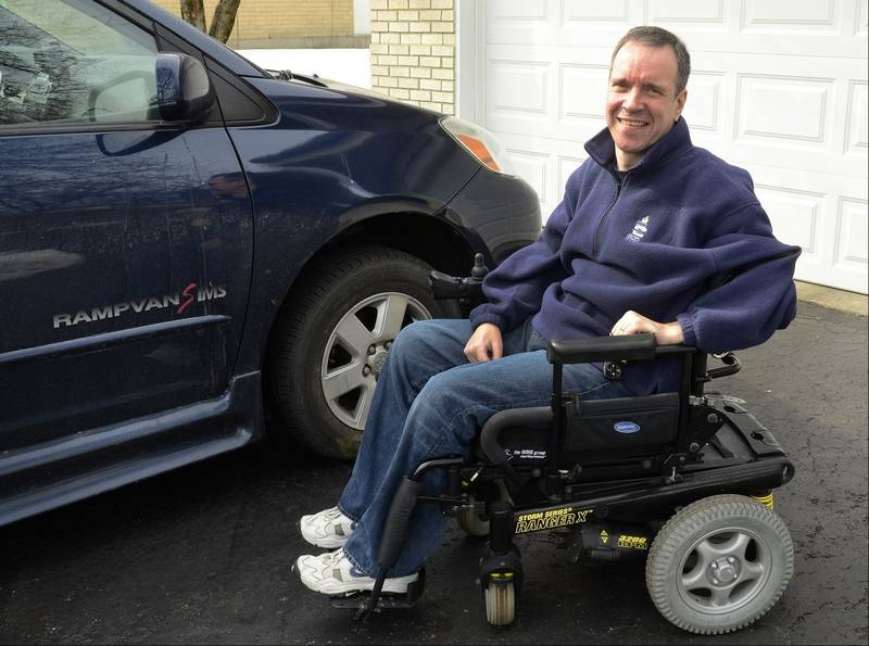 Van contest focuses on people with disabilities for 2 story wheelchair lift