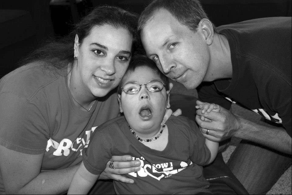 Born with severe cerebral palsy and other disabilities, James Fulkerson started using a stroller wheelchair last fall at age 3. Parents Stacy and Jeff Fulkerson of Schaumburg are among the families hoping to win a wheelchair-accessible vehicle as part of a Mobility Awareness Month contest.