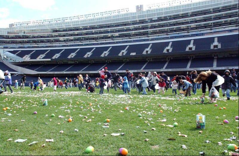 The whole family can enjoy the 10th Annual Spring Egg-Stravaganza at Soldier Field.