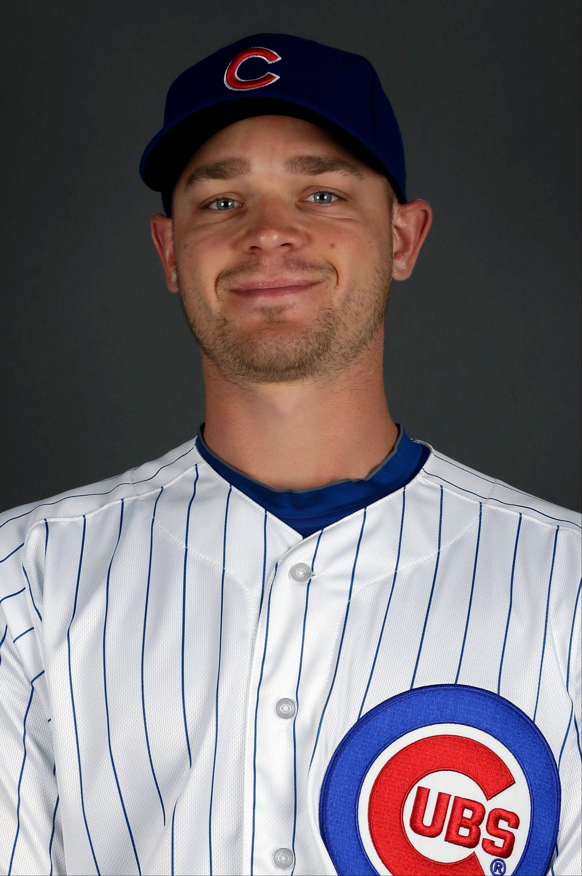 Cubs pitcher Michael Bowden