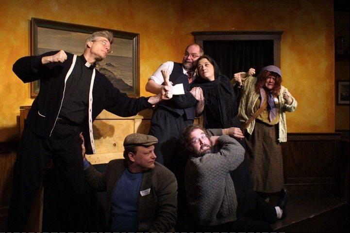 "The interactive Irish funeral comedy ""Flanagan's Wake"" returns Sunday to the Metropolis Performing Arts Centre in Arlington Heights."