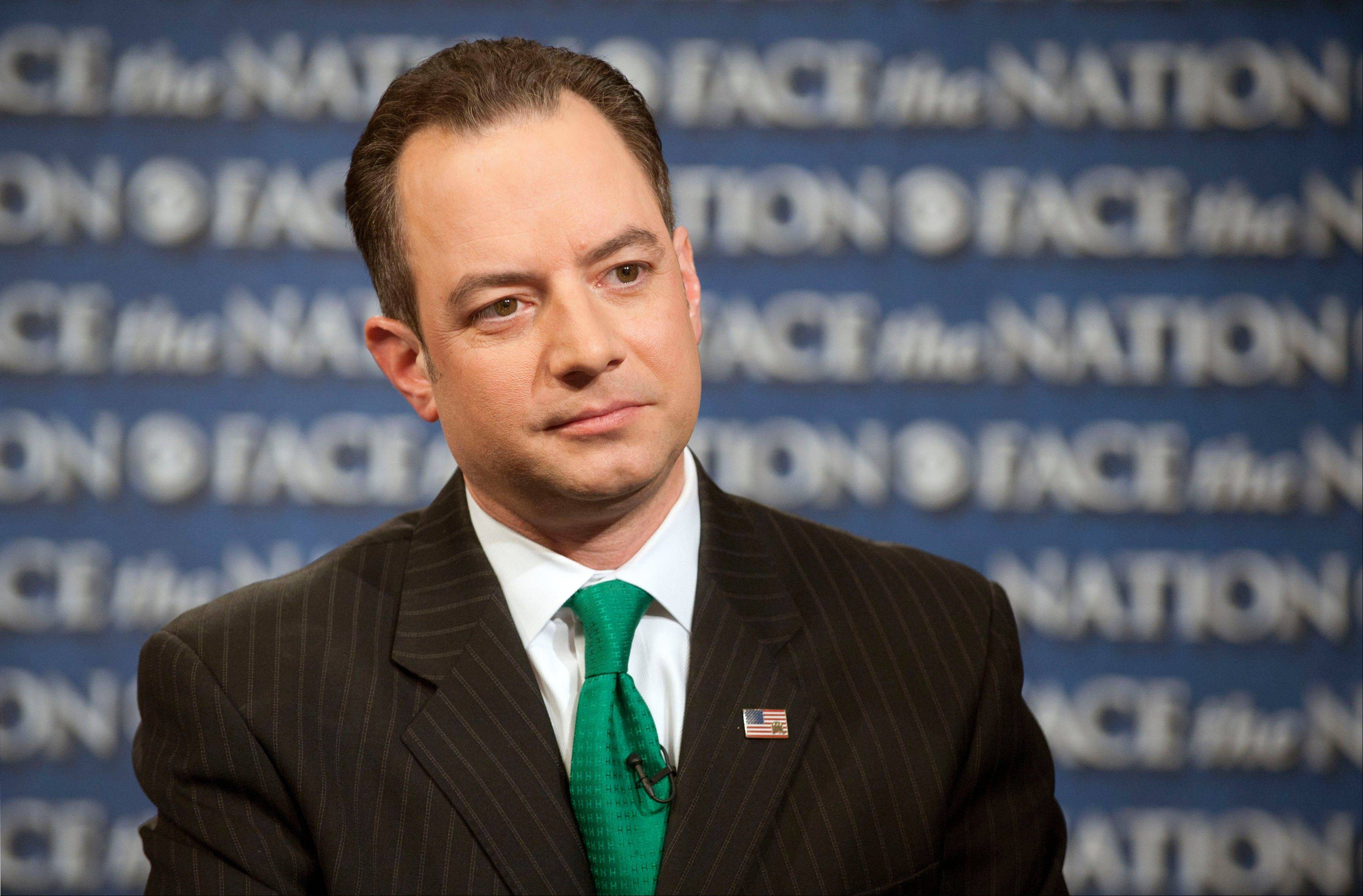 Republican National Committee Chairman Reince Priebus said Sunday the party will spend $10 million this year to send hundreds of paid staffers into communities to talk with Hispanic, black and Asian voters. He is scheduled to outline his plan for the party today.