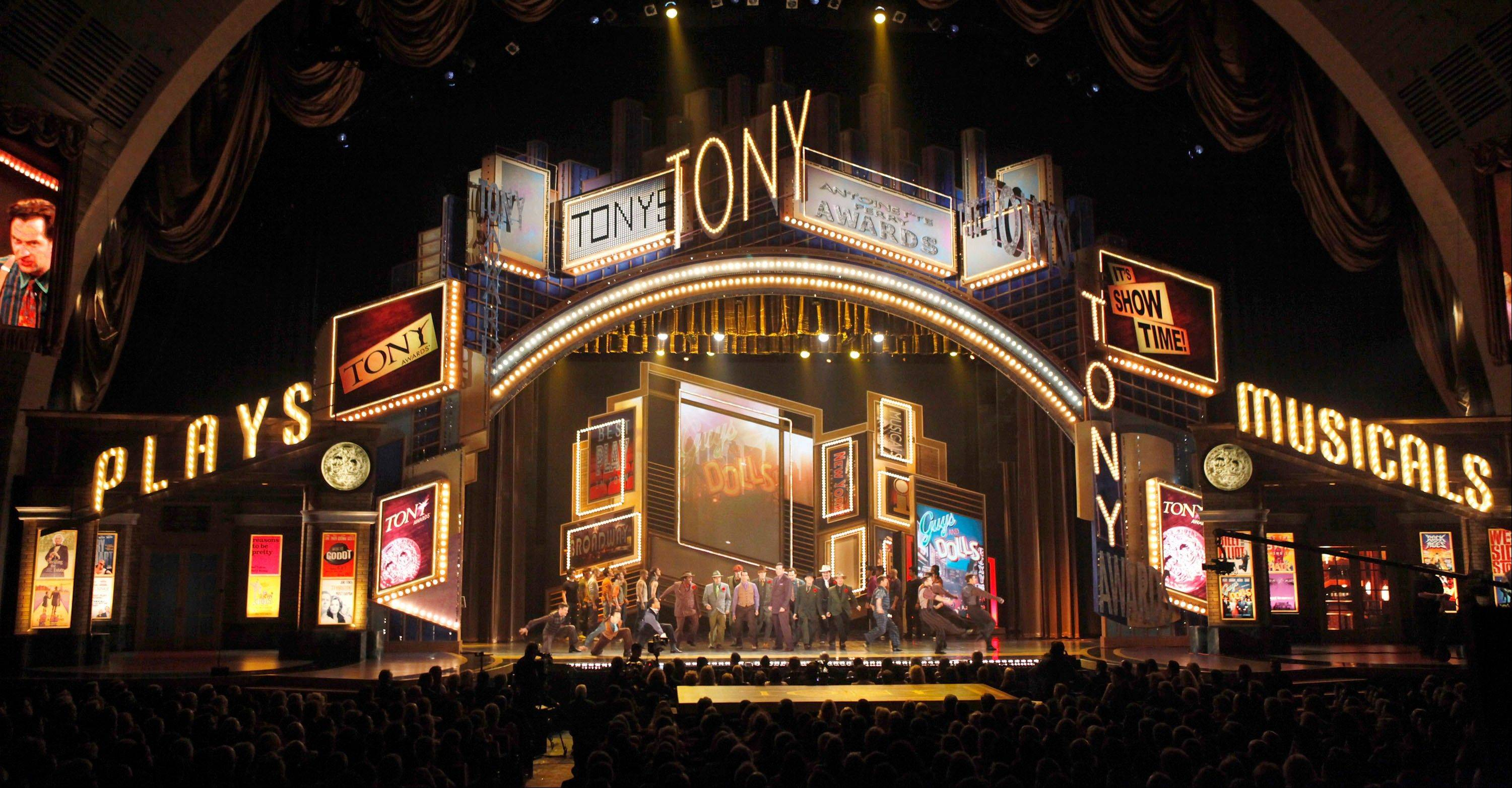 The Broadway League and the American Theatre Wing, joint producers of the Tony Awards show, said that the glittery event will be broadcast live from Radio City Music Hall this year.
