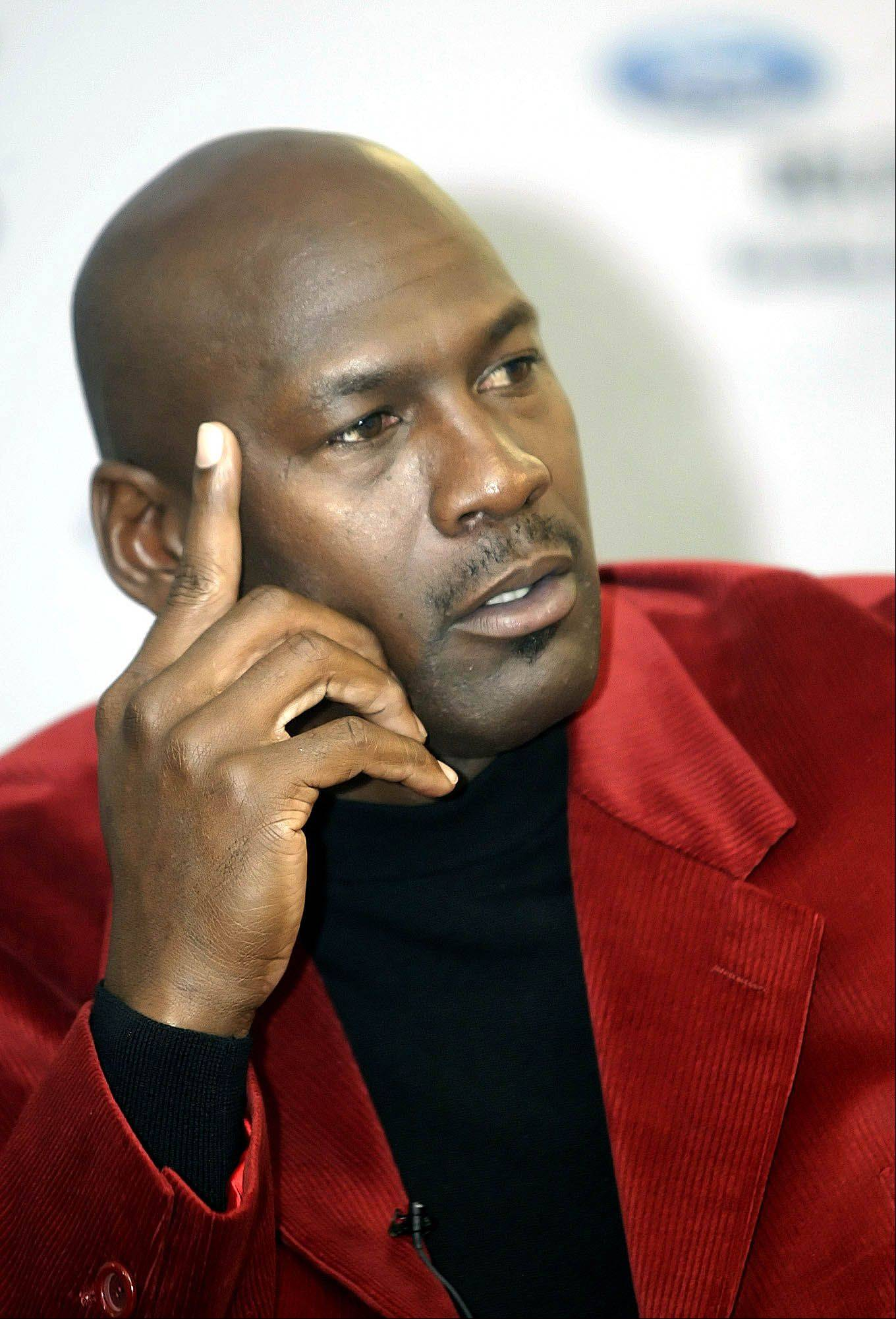Michael Jordan has denied that he's the father of Pamela Smith's 16-year-old son.