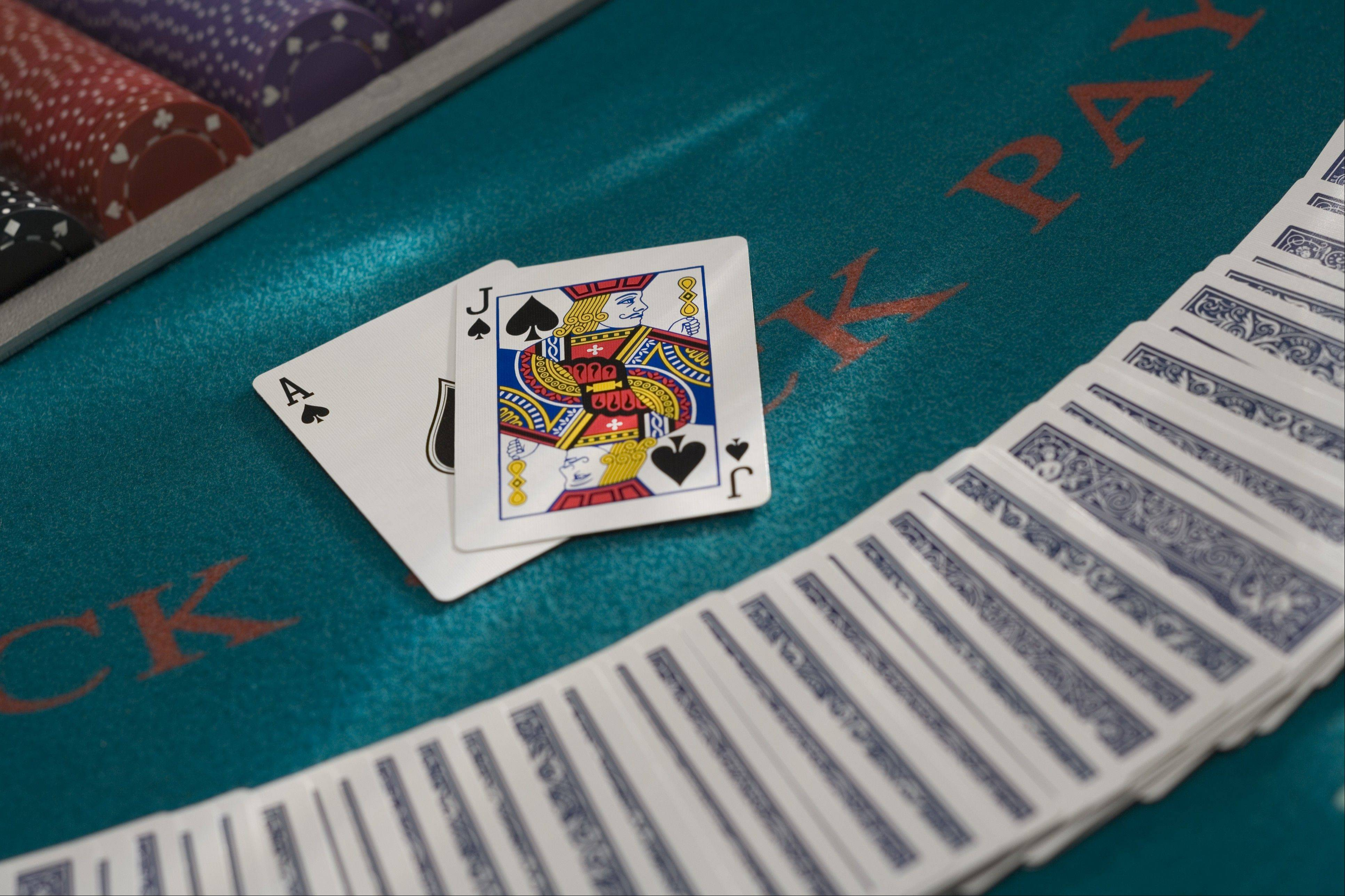 New legislation would allow Illinoisans to gamble on the Internet through games like blackjack.