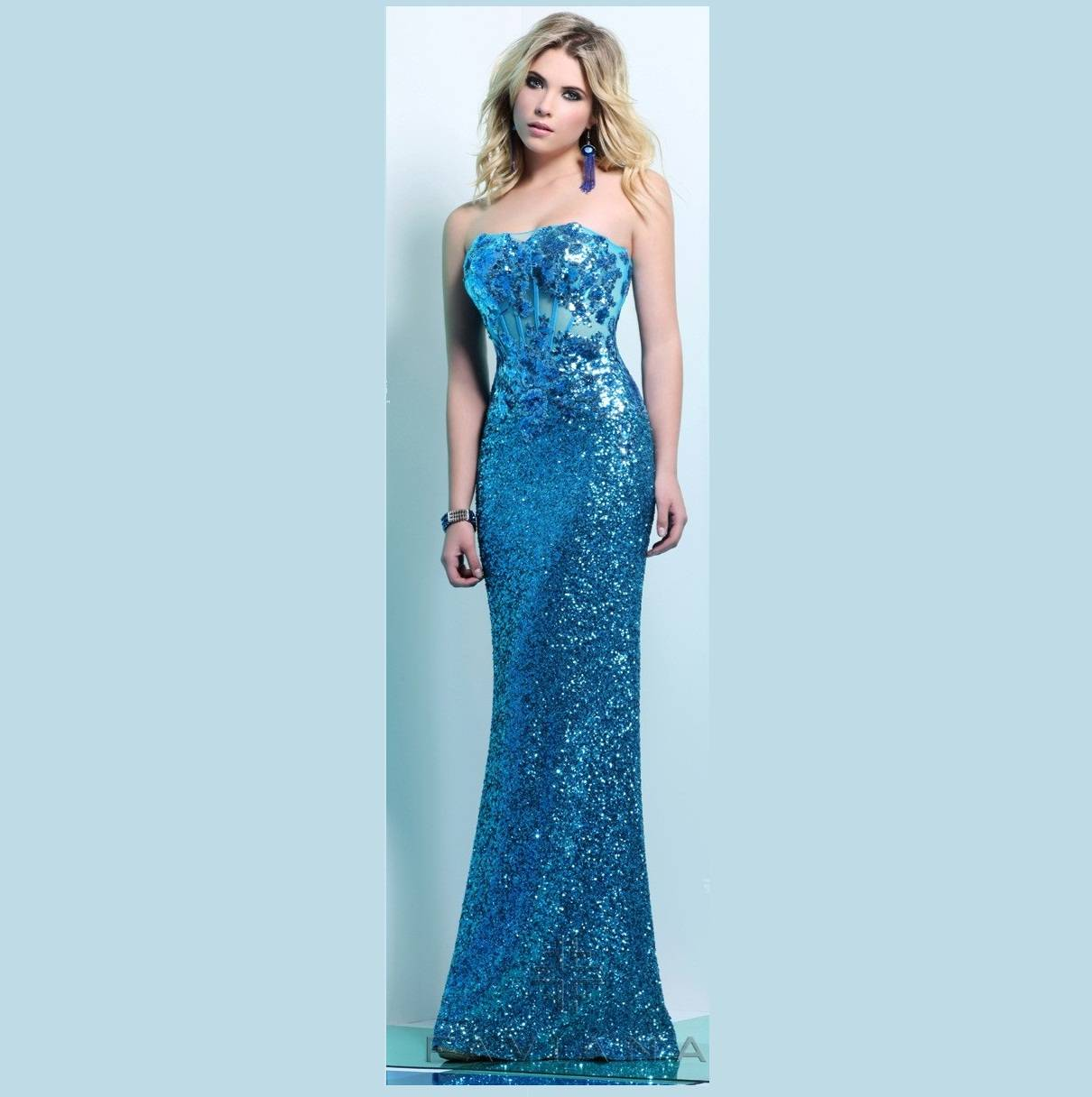 Faviana Prom Gown