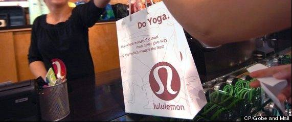 LuLulemon Athletica has taken its black yoga pants off the shelves because the sheer material reveals too much. The Canadian company said that it took the pants off its store shelves and website over the weekend.