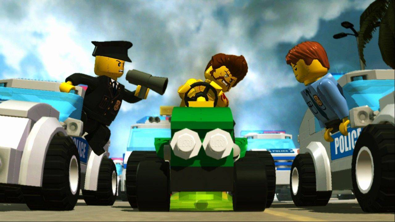 "As undercover officer Chase McCain, players switch between multiple disguises with different abilities to hunt down Lego City lawbreakers in ""Lego City Undercover."""