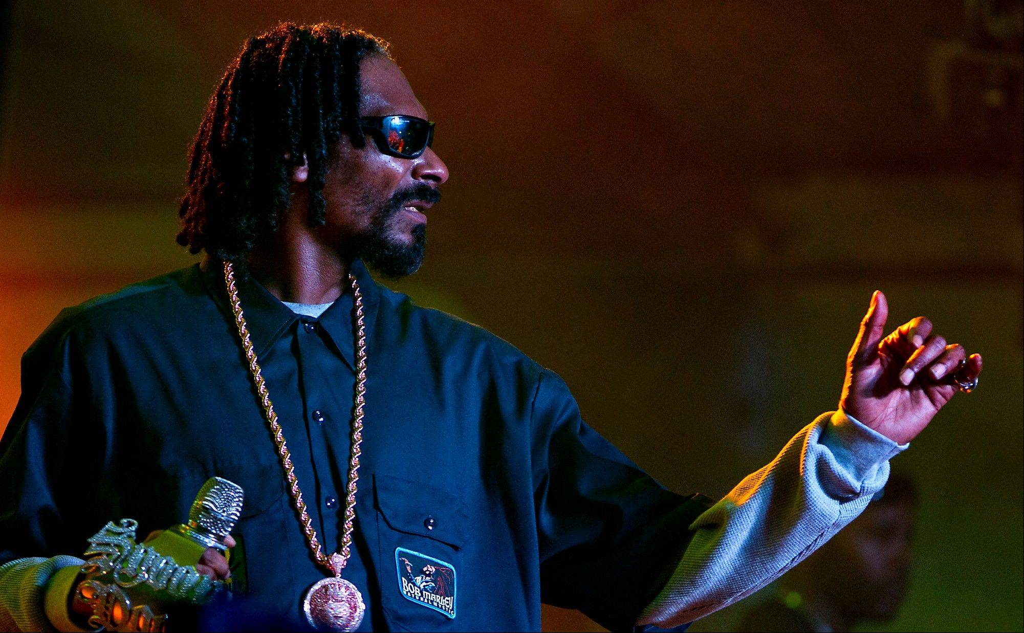 Snoop Lion, formerly Snoop Dogg, performs during Lion Fest held at Viceland during SXSW 2013 on Thursday in Austin, Texas.