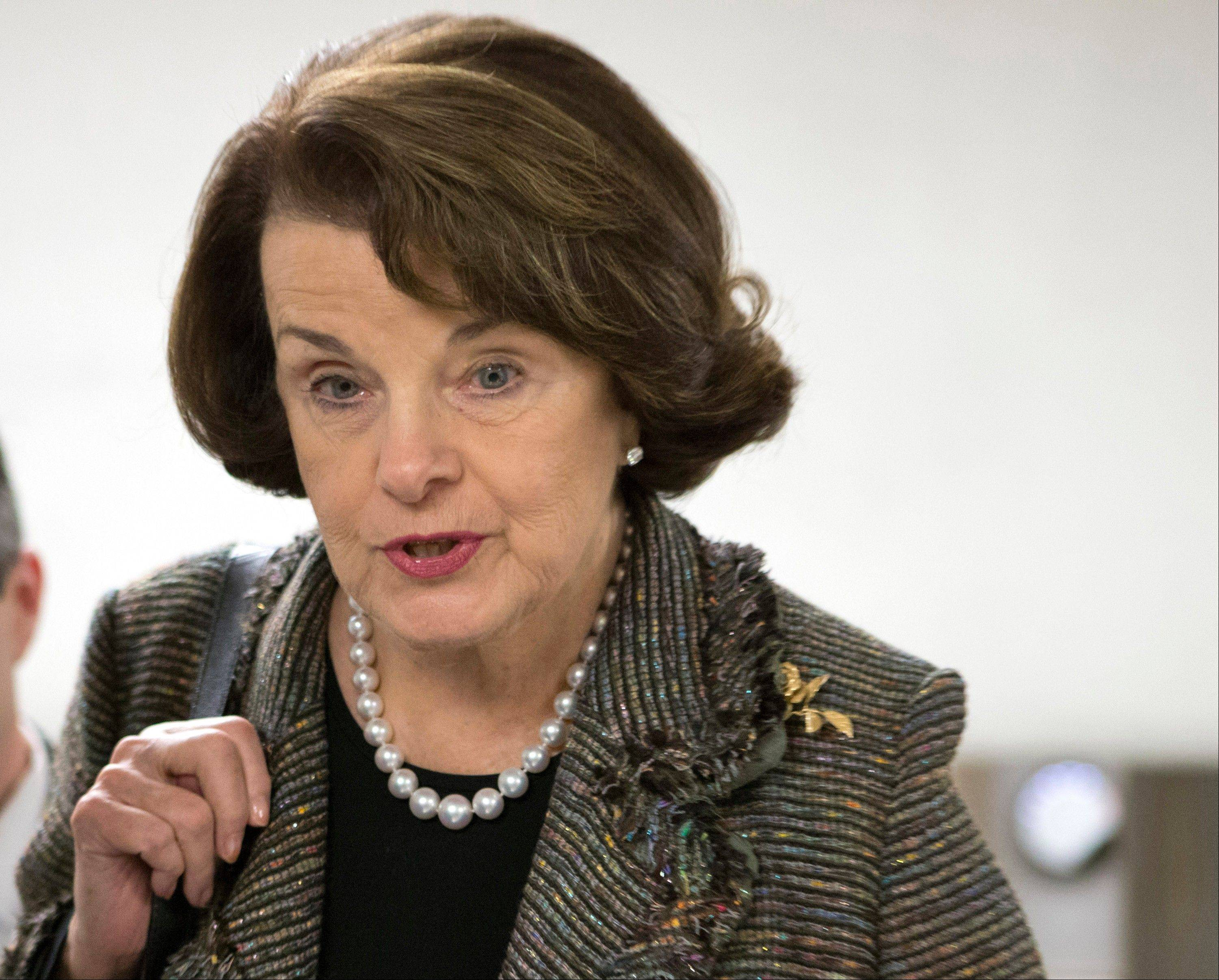 Sen. Dianne Feinstein, a California Democrat and sponsor of a proposed assault weapons ban, learned Tuesday her bill will not be part of the initial gun control measure the Senate will debate next month.