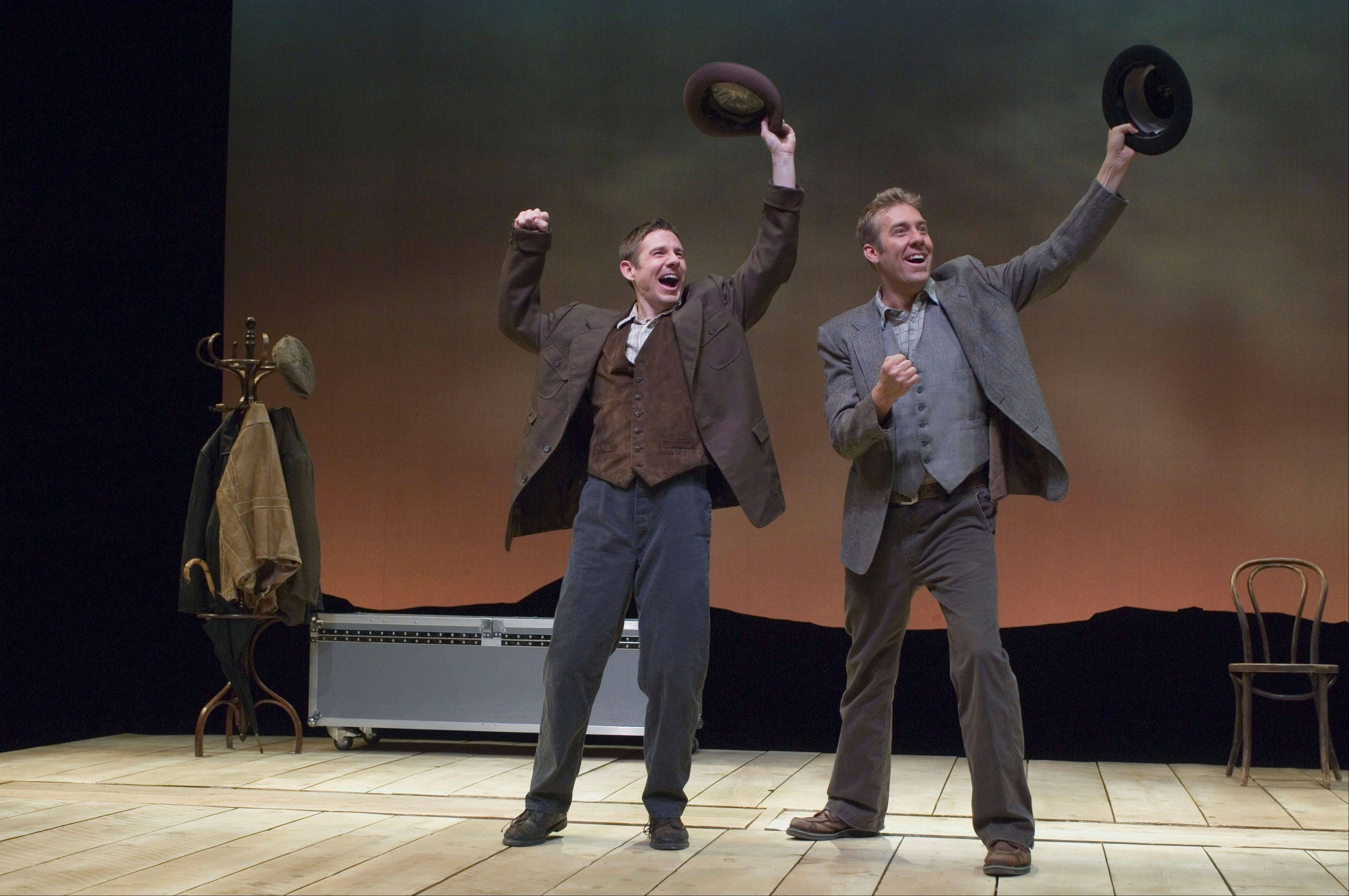 "Brian Vaughn and David Ivers play a multitude of odd Irish characters in ""Stones in His Pockets"" at Northlight Theatre in Skokie. The two are both artistic directors of the Utah Shakespearean Festival in Cedar City, Utah."
