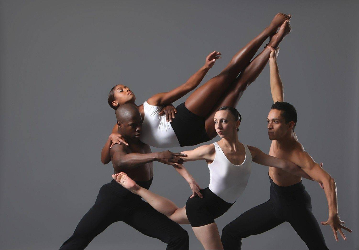 "Dancers in Autumn Eckman's ""G-Force,"" which returns to the repertory of Giordano Jazz Dance Chicago for its run of spring performances at Millennium Park's Harris Theater for Music and Dance in Chicago."