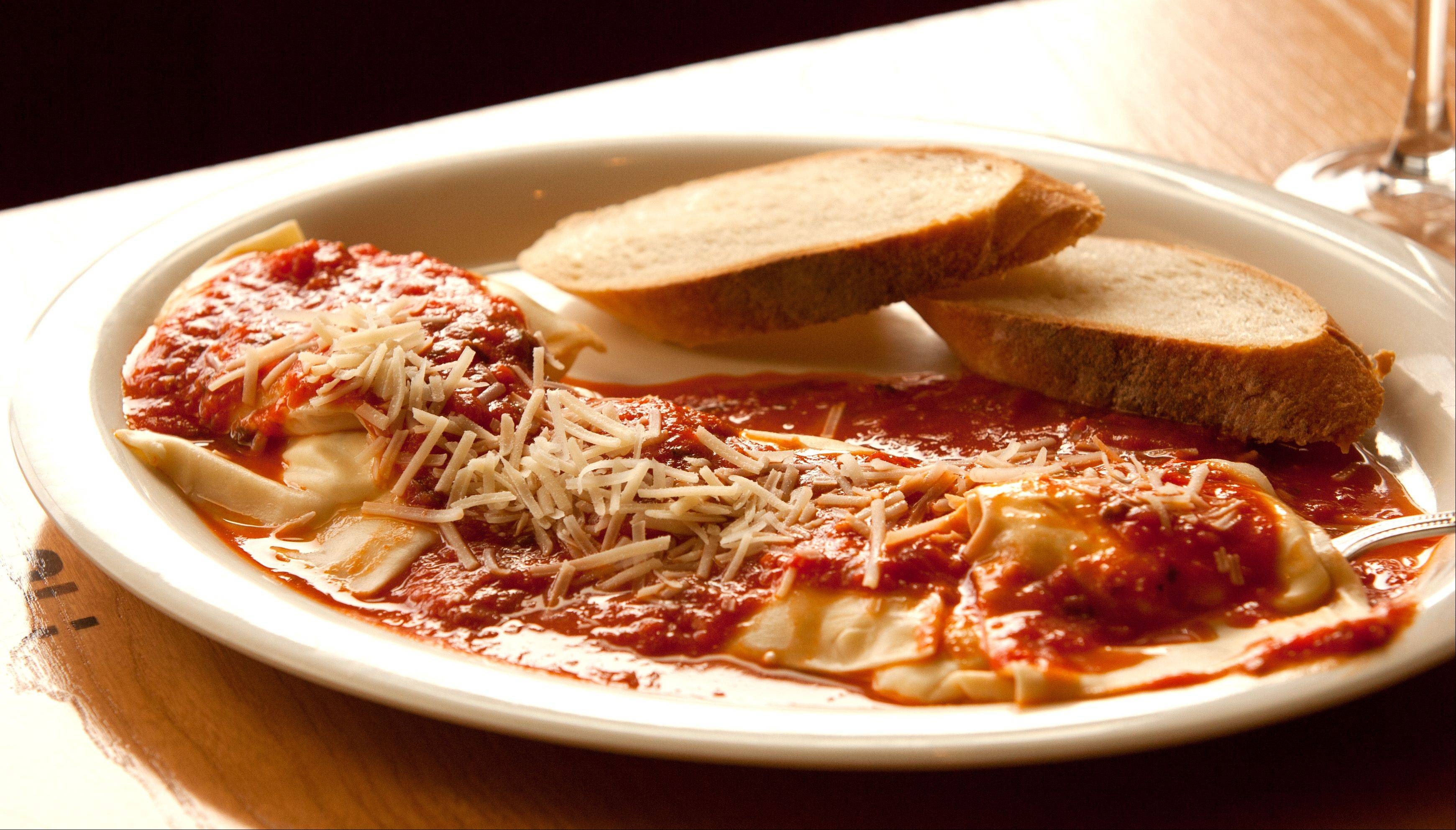 Tender, fresh pasta is the real star at Ravioli Oli in Oak Brook.