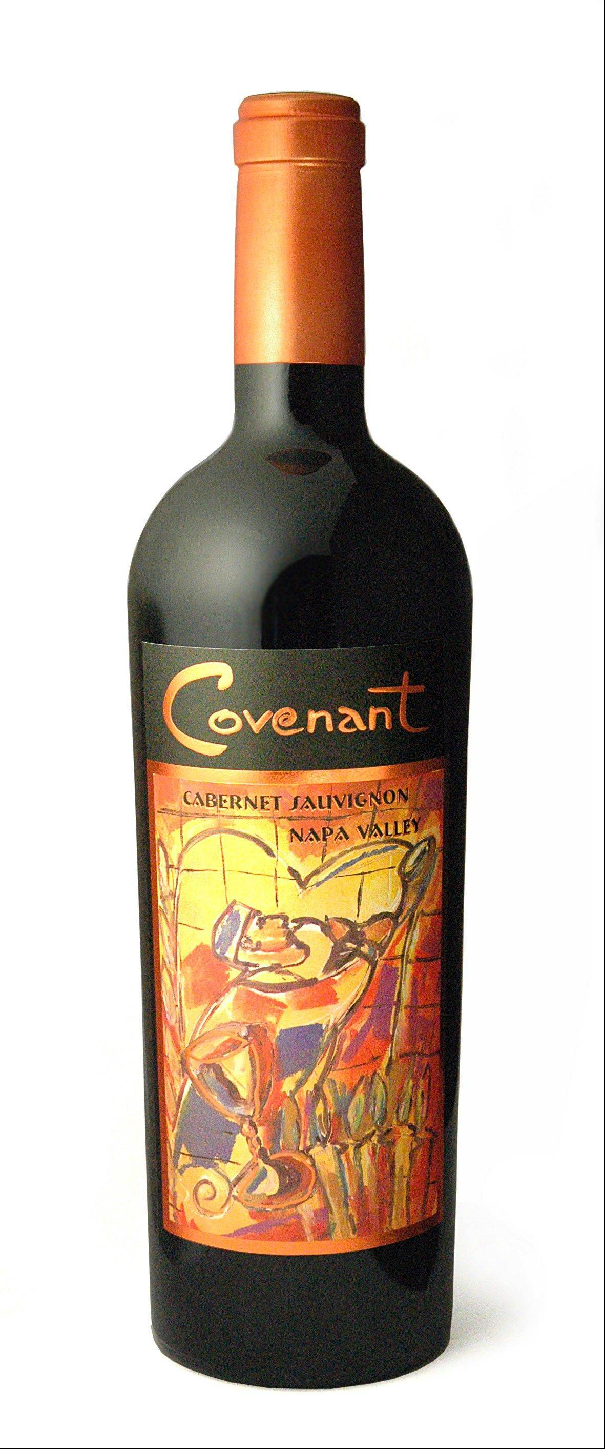 Covenant Wines produces kosher wines like this Cabernet Sauvignon.