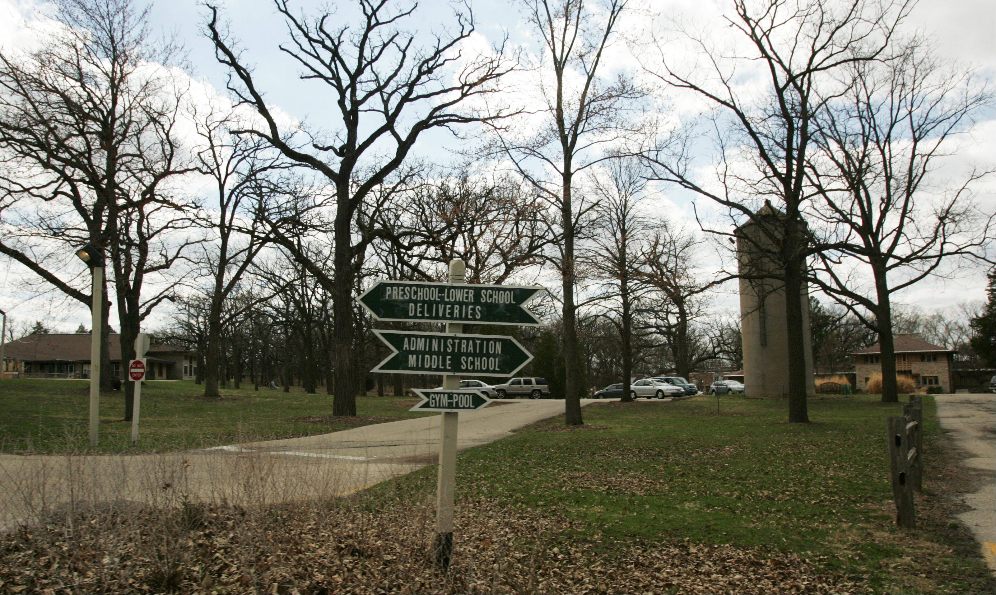 Daily Herald File PhotoPlans are under way to transfer the former Fox River Country Day School into a nature preserve.