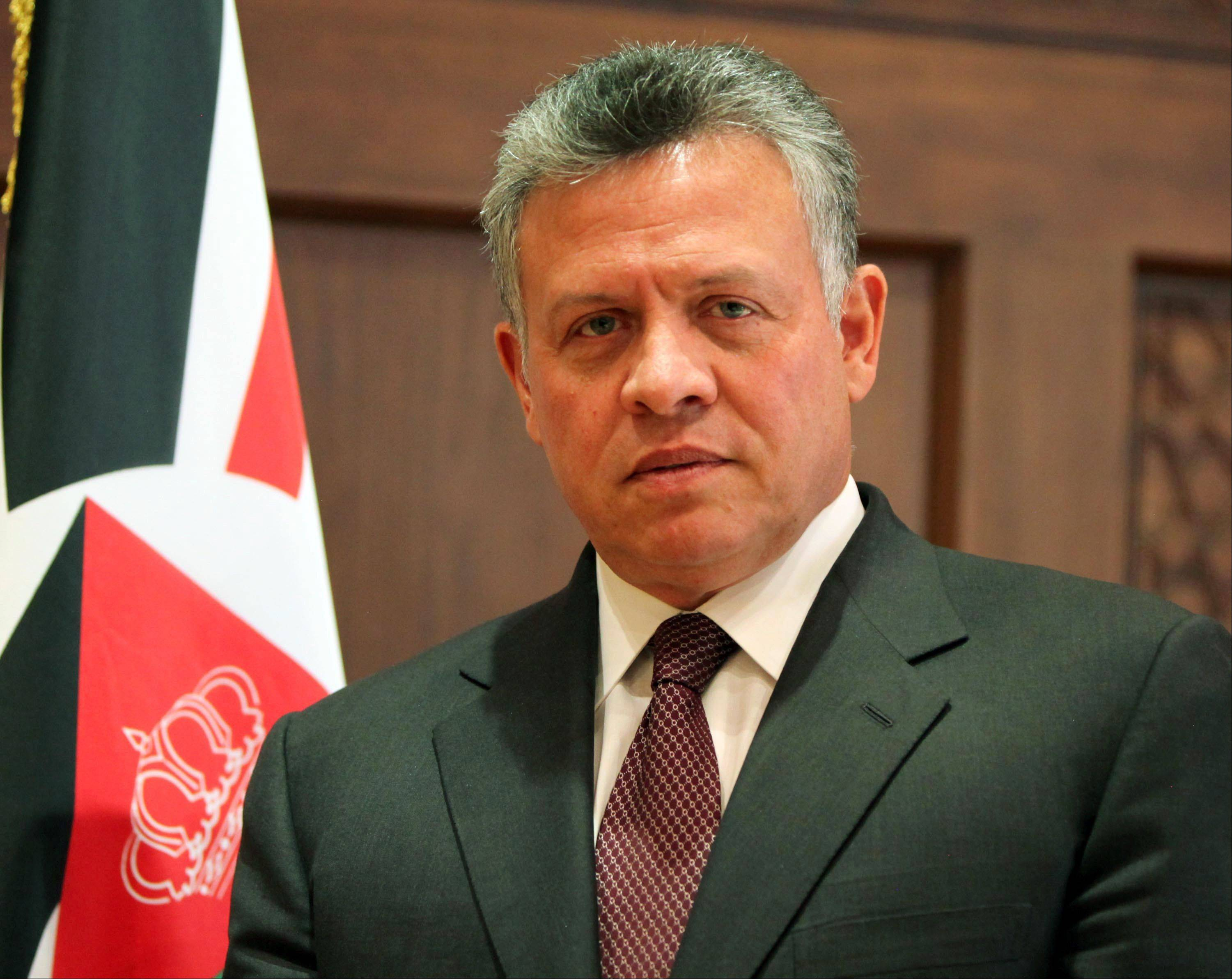 "King Abdullah II of Jordan said in a wide-ranging interview with The Associated Press on Wednesday that in his view, President Bashar Assad was beyond rehabilitation and it was only a matter of time before his regime collapses. As President Barack Obama began a regional tour, which includes stops in Israel, the West Bank and Jordan, Abdullah says the visit is significant and opens a ""window of opportunity"" for restarting Israeli-Palestinian peace talks."