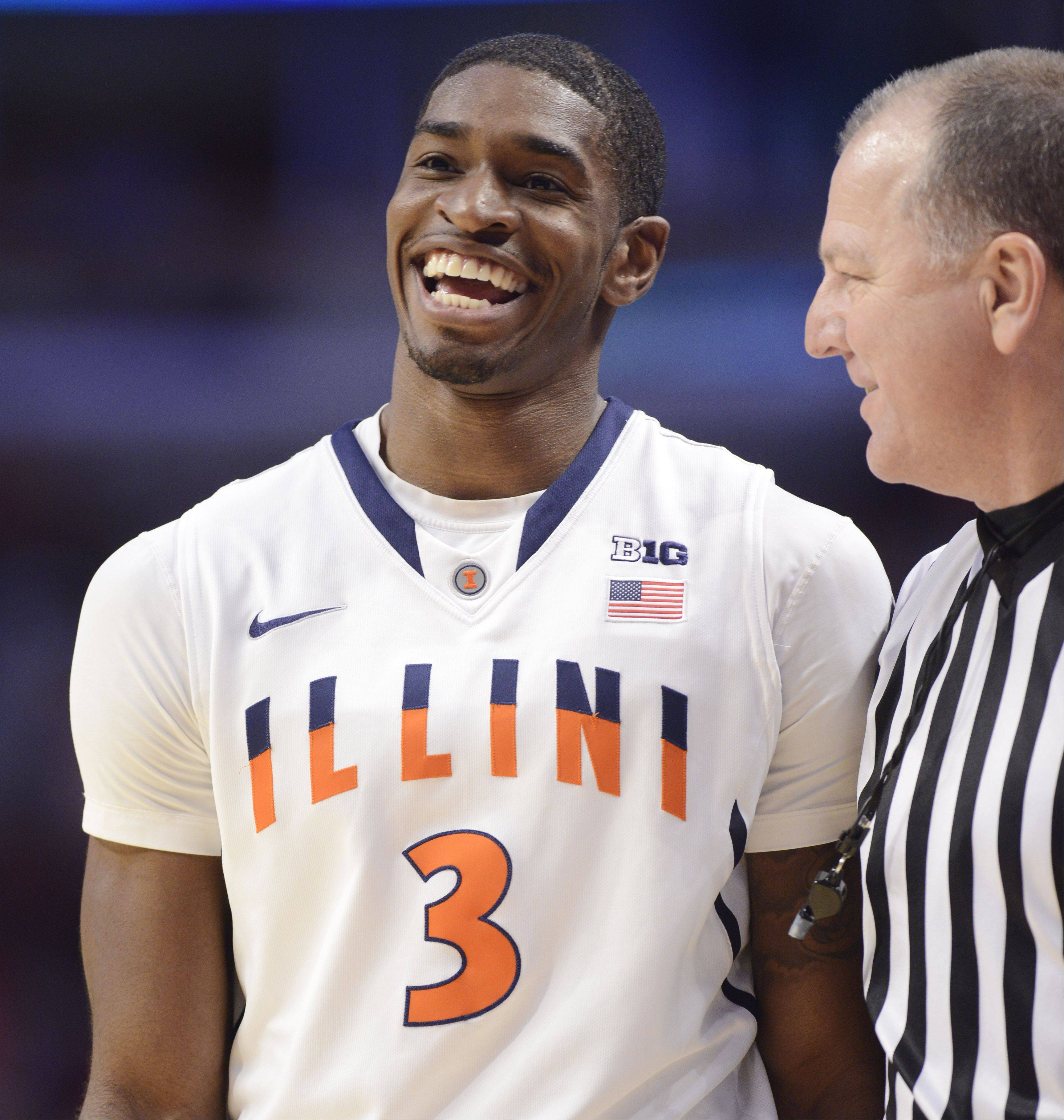 Illinois senior guard Brandon Paul, who was a star at Warren Township High School, will lead his team into the NCAA tournament on Friday against Colorado.
