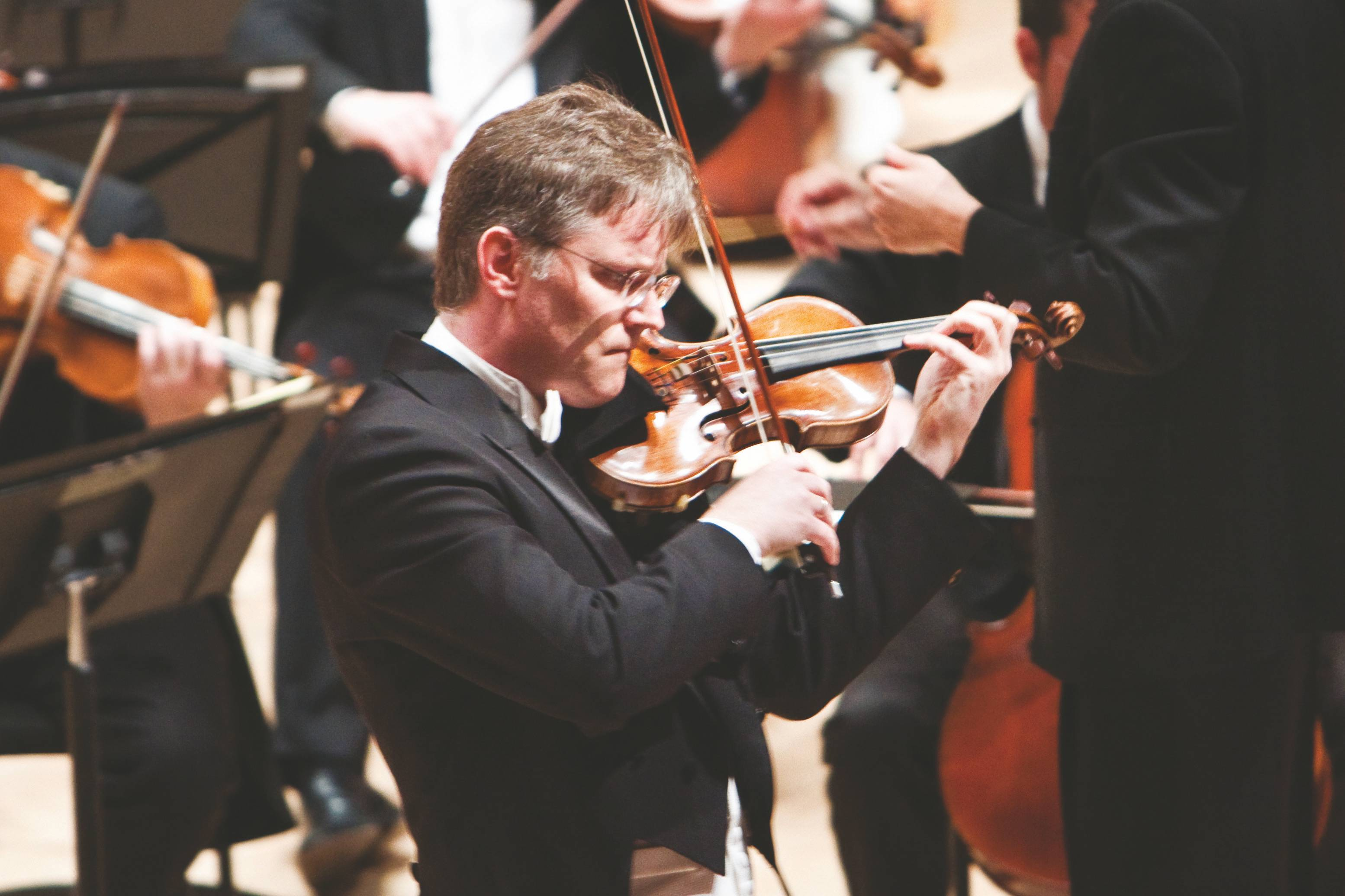 Violinist David Perry will lead the Chicago Philharmonic in Nordic Romance on Sunday, April 21 at 7 p.m. at Pick-Staiger in Evanston.